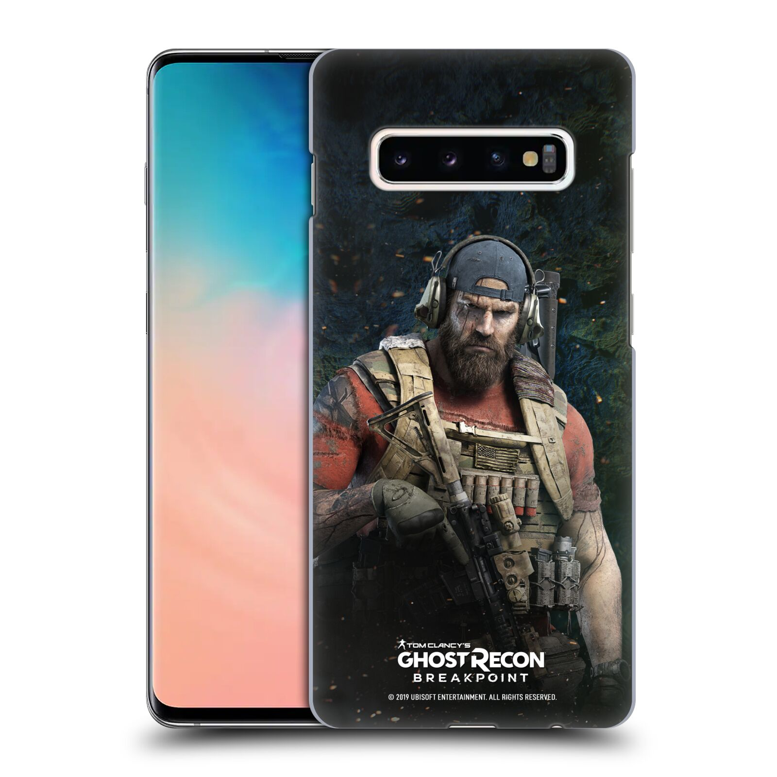 Pouzdro na mobil Samsung Galaxy S10+ - HEAD CASE - Tom Clancys Ghost Recon BreakPoint - Nomad