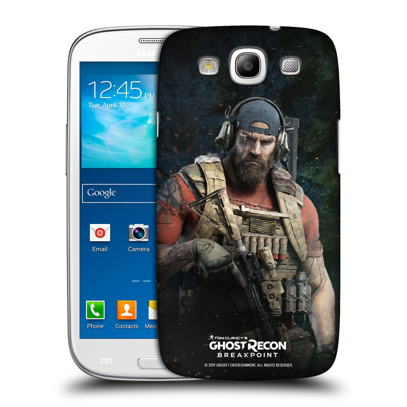 Pouzdro na mobil Samsung Galaxy S3 - HEAD CASE - Tom Clancys Ghost Recon BreakPoint - Nomad
