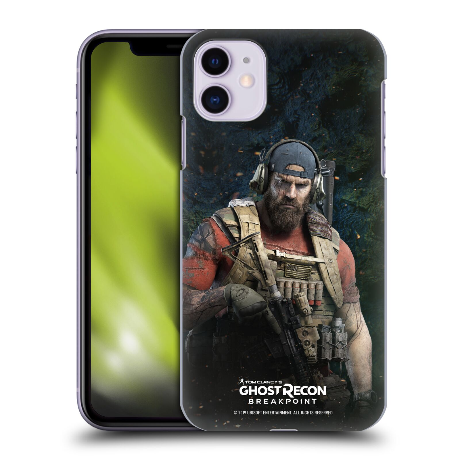 Pouzdro na mobil Apple Iphone 11 - HEAD CASE - Tom Clancys Ghost Recon BreakPoint - Nomad