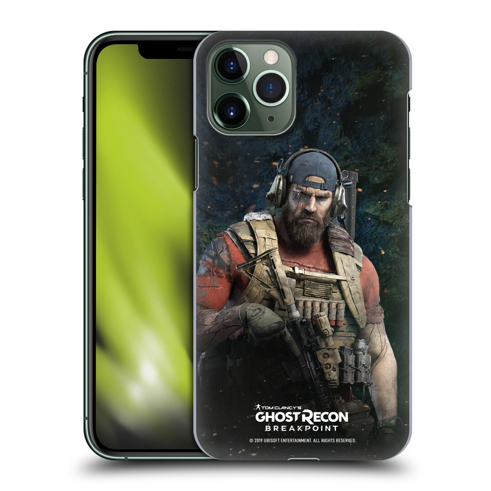 Pouzdro na mobil Apple Iphone 11 PRO - HEAD CASE - Tom Clancys Ghost Recon BreakPoint - Nomad