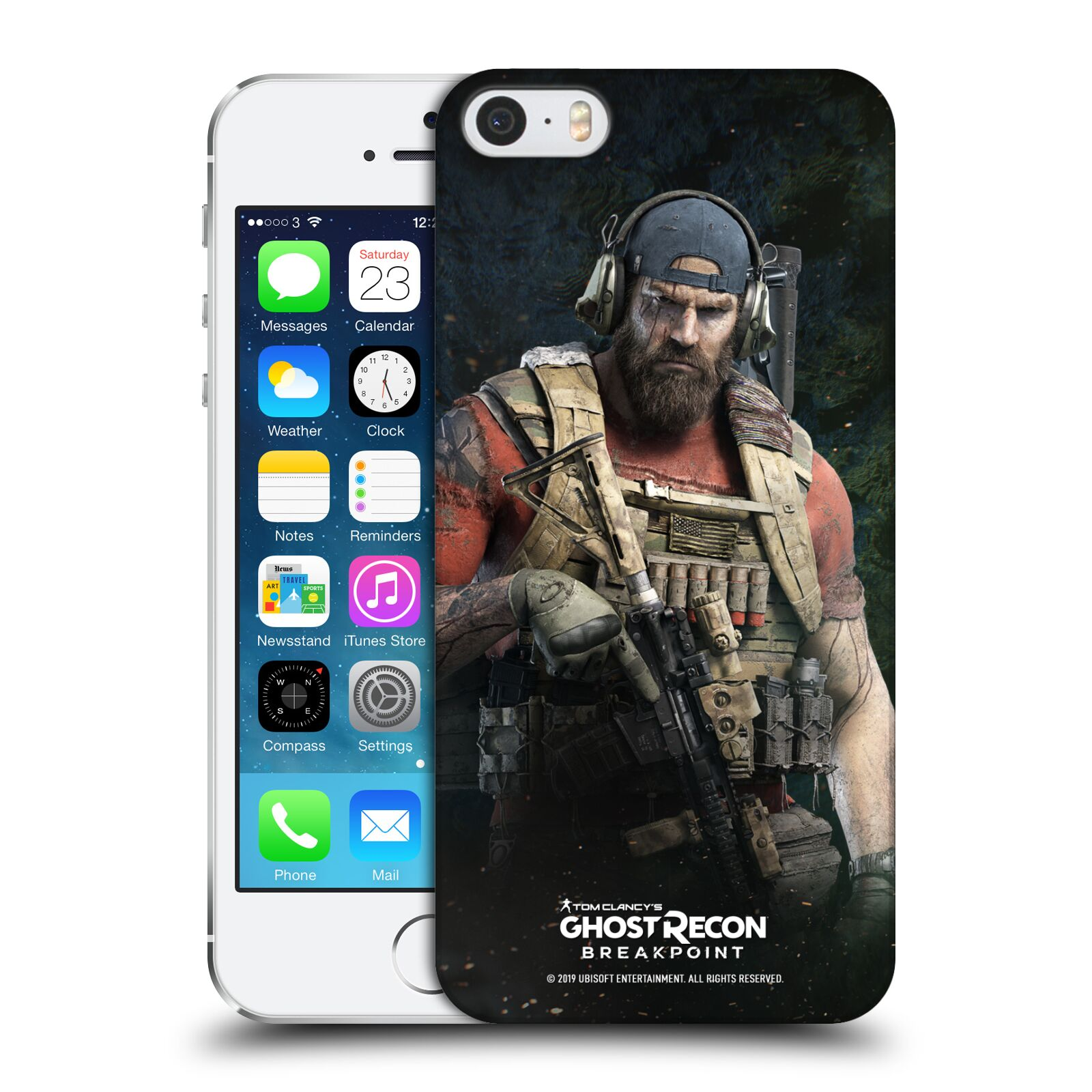 Pouzdro na mobil Apple Iphone 5/5S - HEAD CASE - Tom Clancys Ghost Recon BreakPoint - Nomad