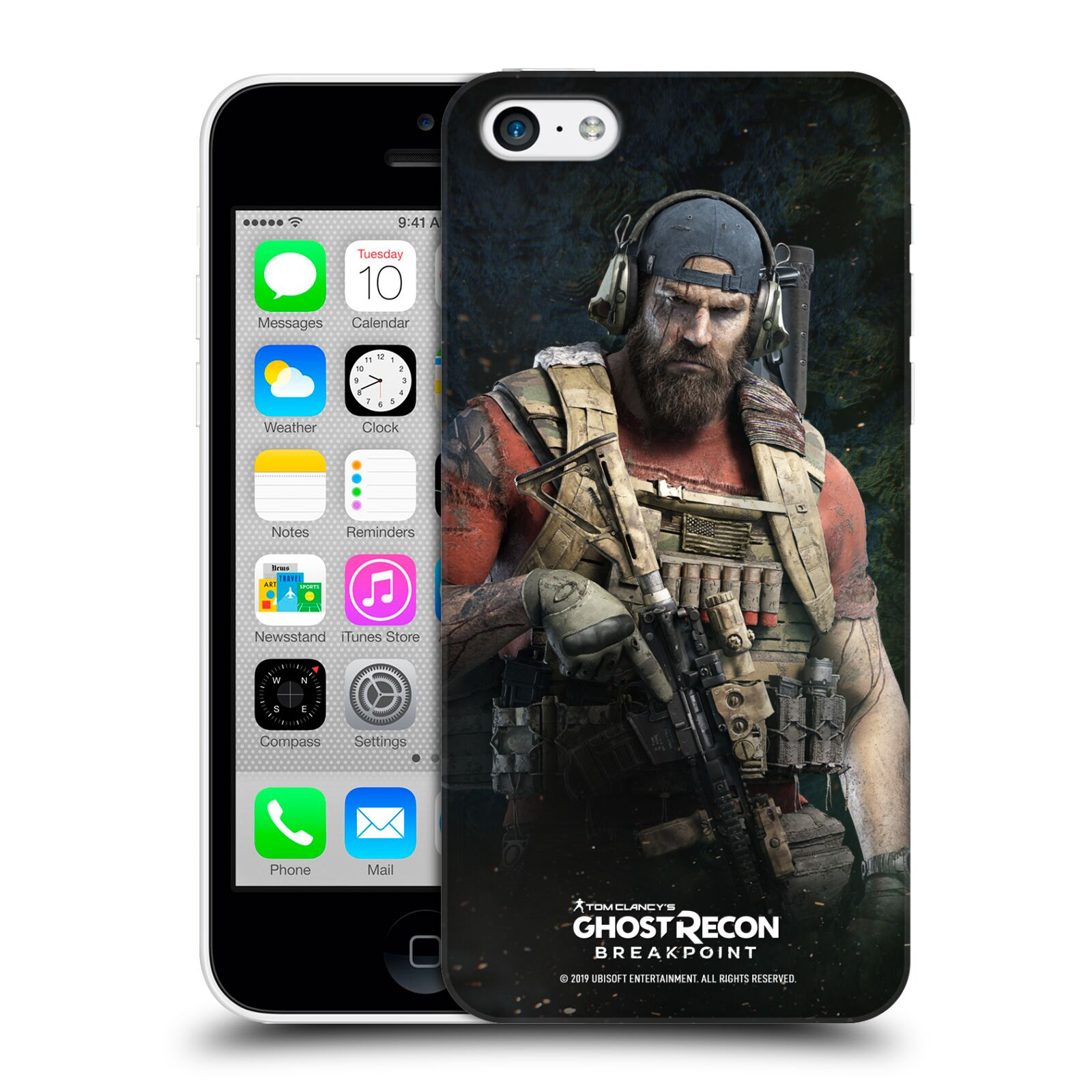 Pouzdro na mobil Apple Iphone 5C - HEAD CASE - Tom Clancys Ghost Recon BreakPoint - Nomad