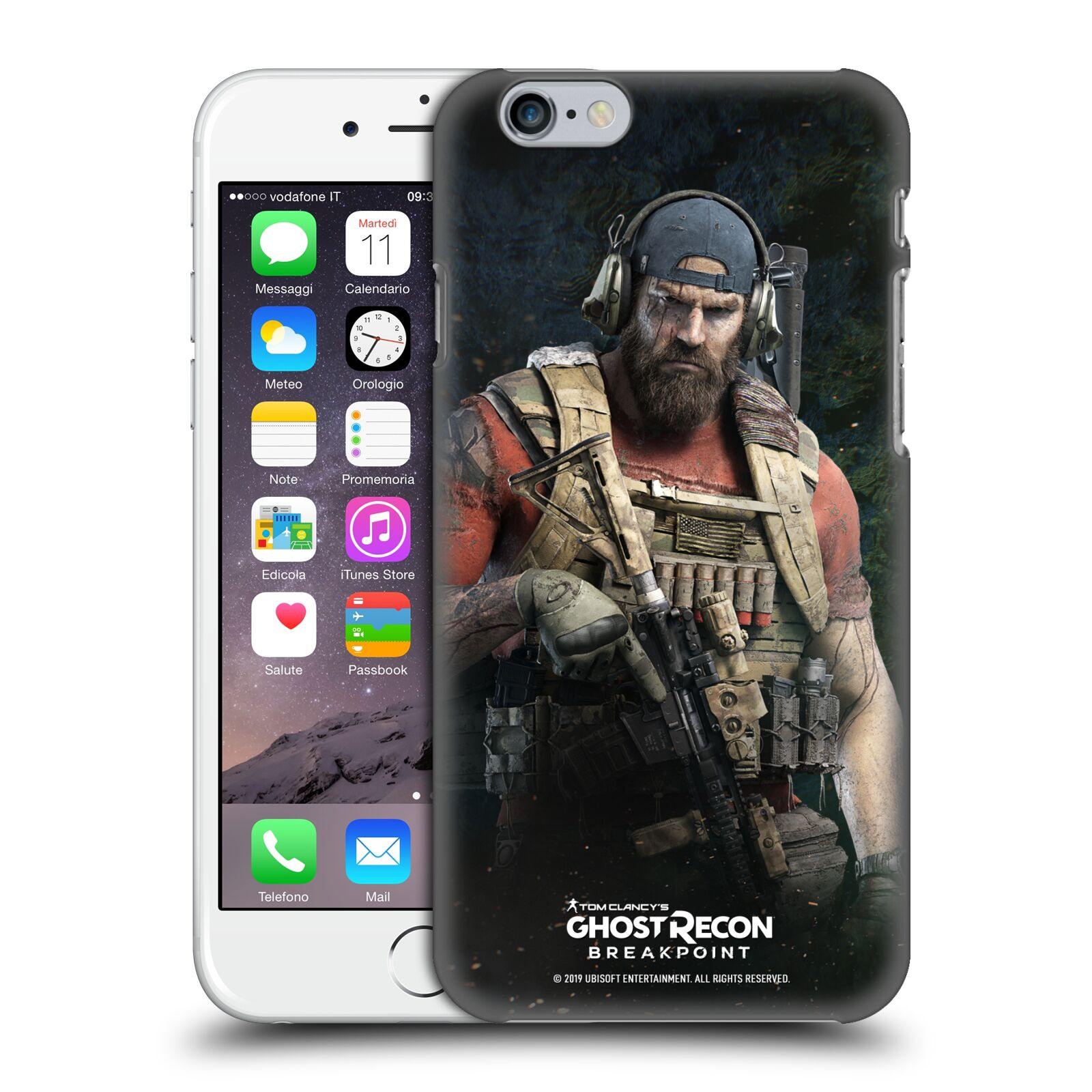 Pouzdro na mobil Apple Iphone 6/6S - HEAD CASE - Tom Clancys Ghost Recon BreakPoint - Nomad
