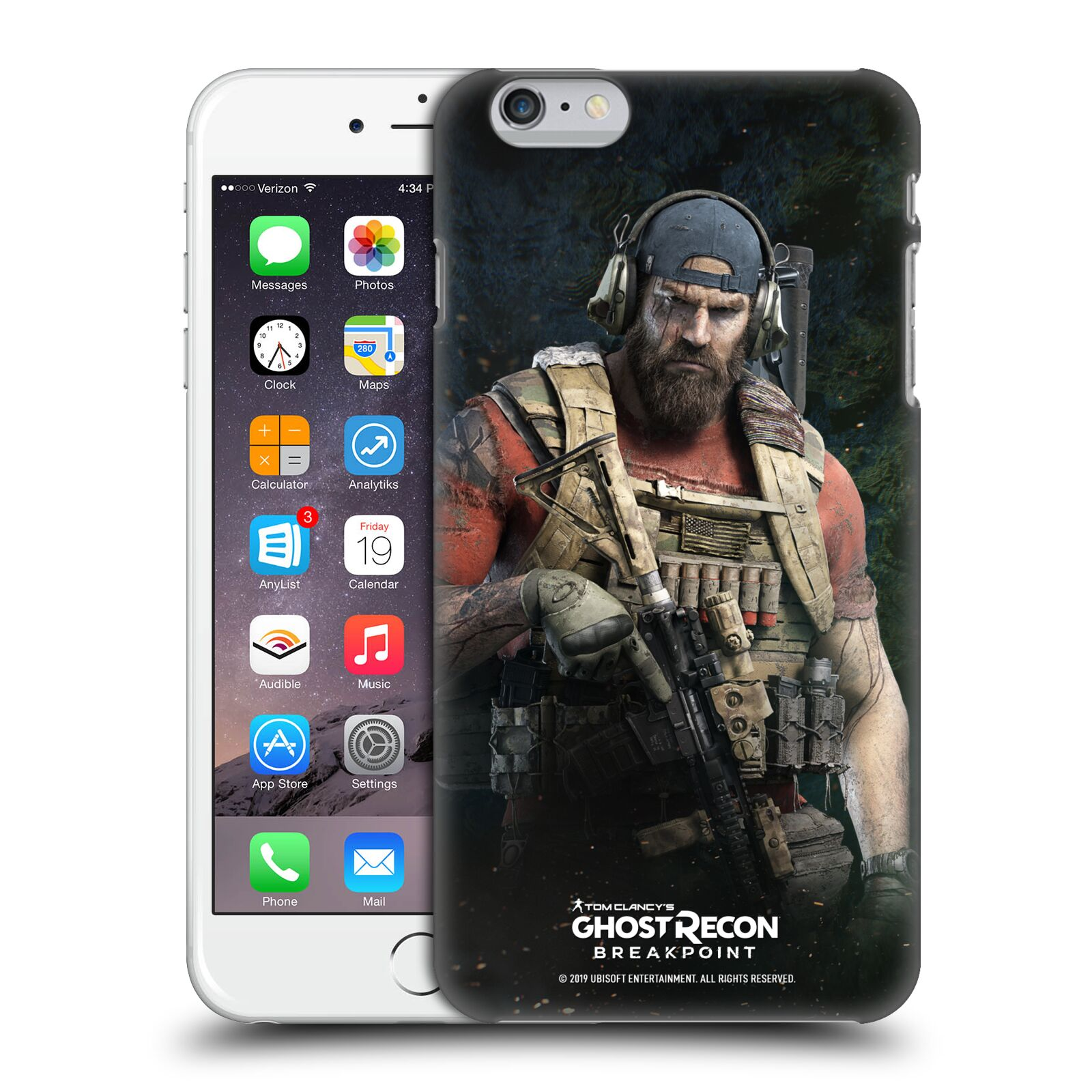Pouzdro na mobil Apple Iphone 6/6S PLUS - HEAD CASE - Tom Clancys Ghost Recon BreakPoint - Nomad