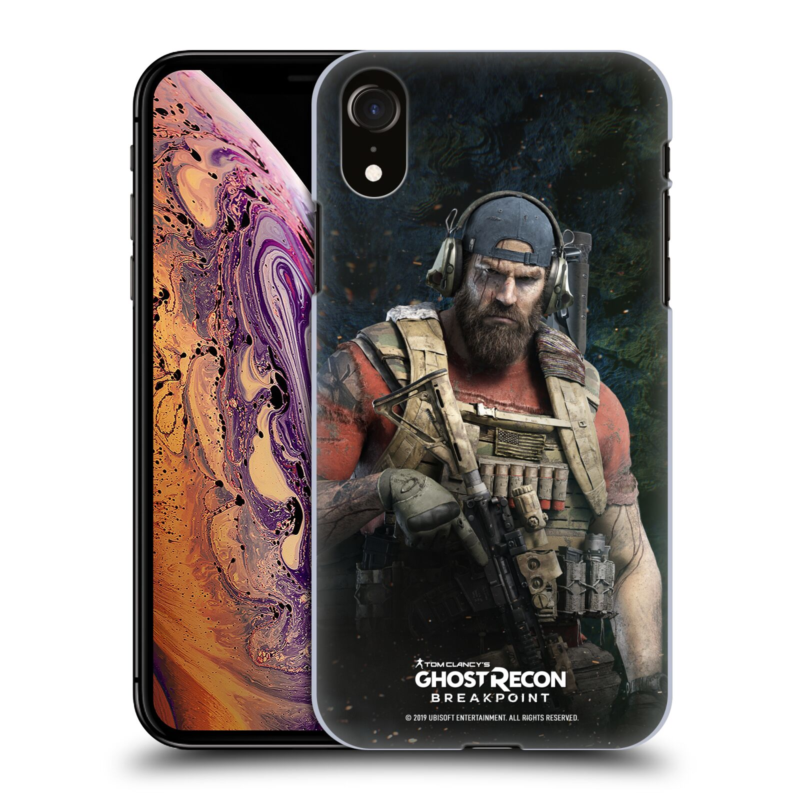 Pouzdro na mobil Apple Iphone XR - HEAD CASE - Tom Clancys Ghost Recon BreakPoint - Nomad