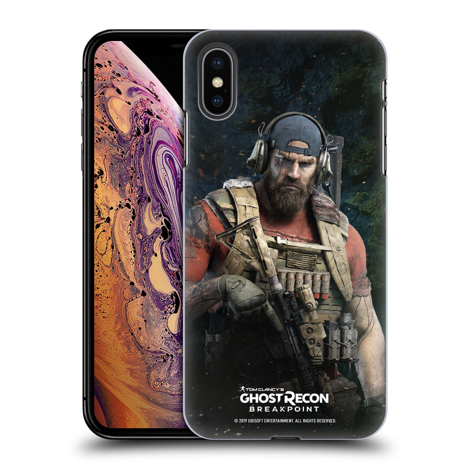 Pouzdro na mobil Apple Iphone XS MAX - HEAD CASE - Tom Clancys Ghost Recon BreakPoint - Nomad