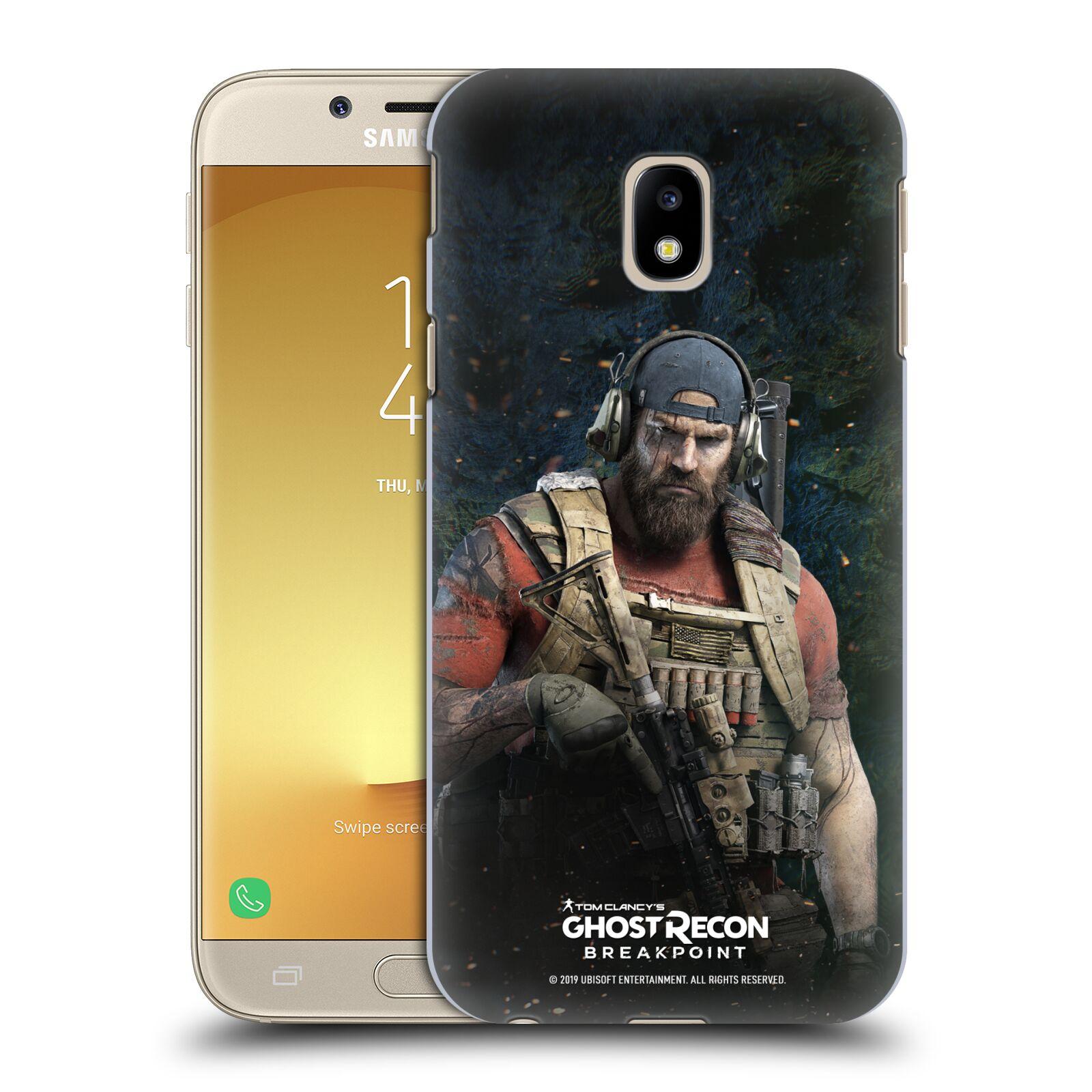 Pouzdro na mobil Samsung Galaxy J3 2017 (J330, J330F) - HEAD CASE - Tom Clancys Ghost Recon BreakPoint - Nomad
