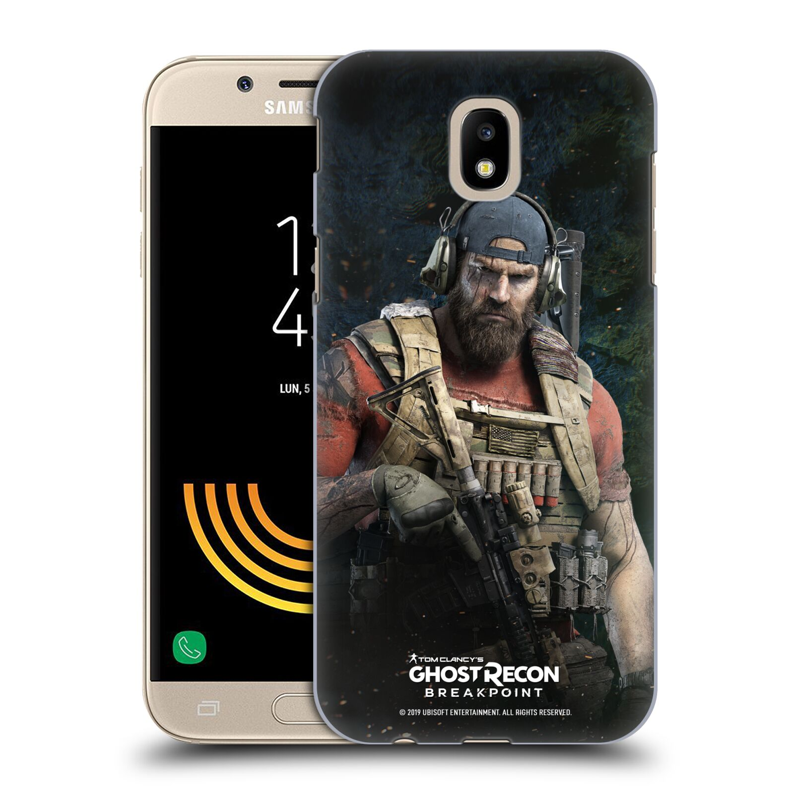 Pouzdro na mobil Samsung Galaxy J5 2017 - HEAD CASE - Tom Clancys Ghost Recon BreakPoint - Nomad