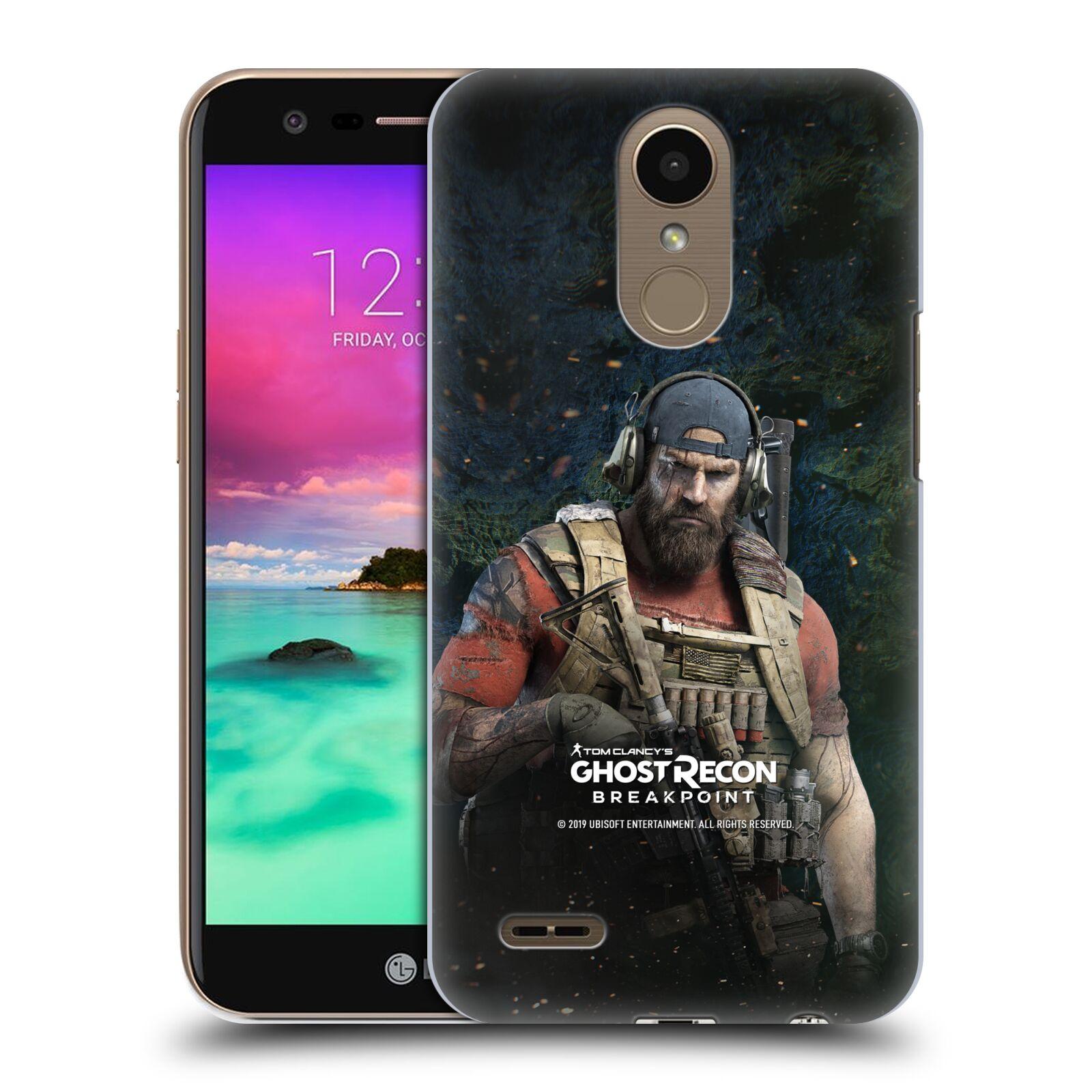 Pouzdro na mobil LG K10 2017 / K10 2017 DUAL SIM - HEAD CASE - Tom Clancys Ghost Recon BreakPoint - Nomad