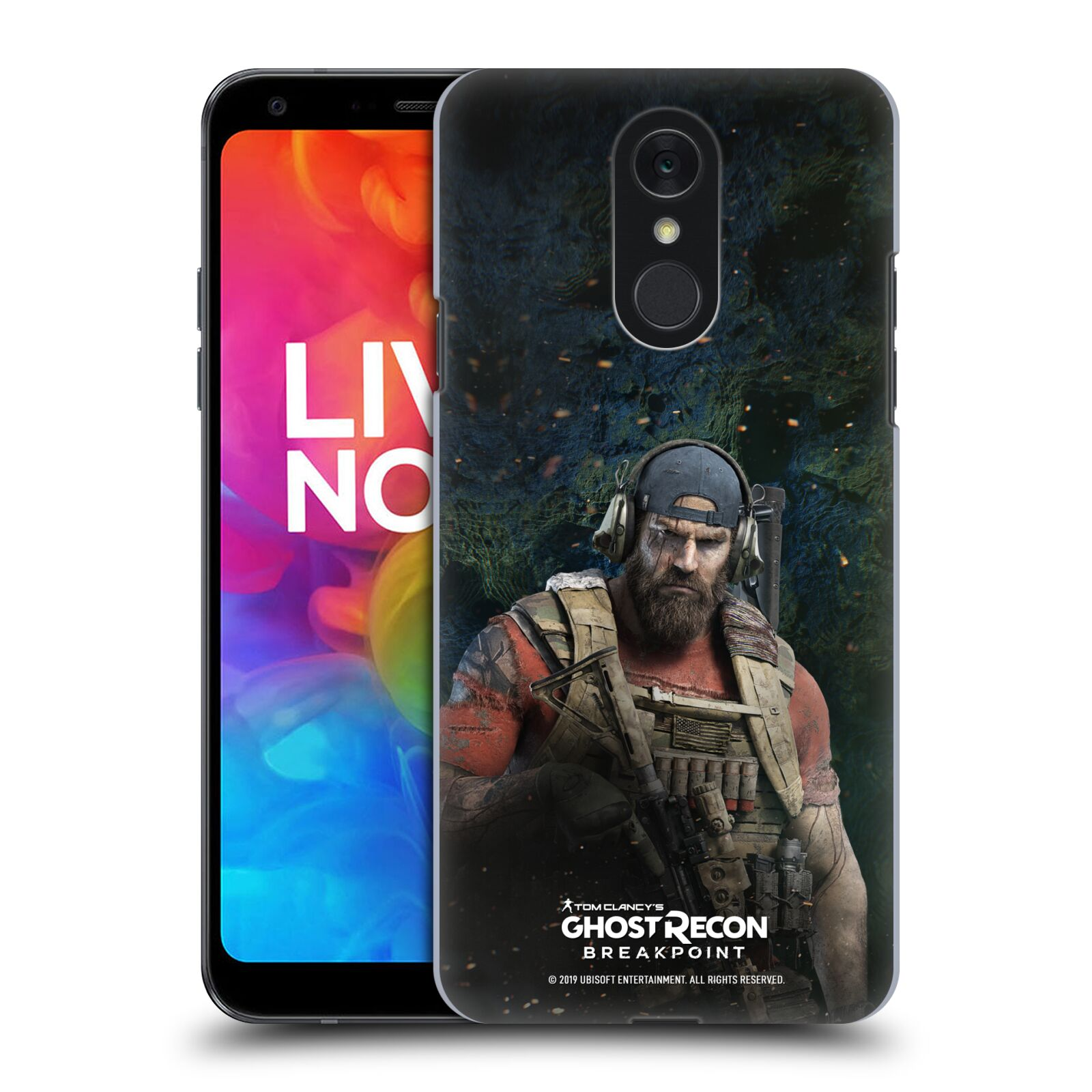 Pouzdro na mobil LG Q7 - HEAD CASE - Tom Clancys Ghost Recon BreakPoint - Nomad