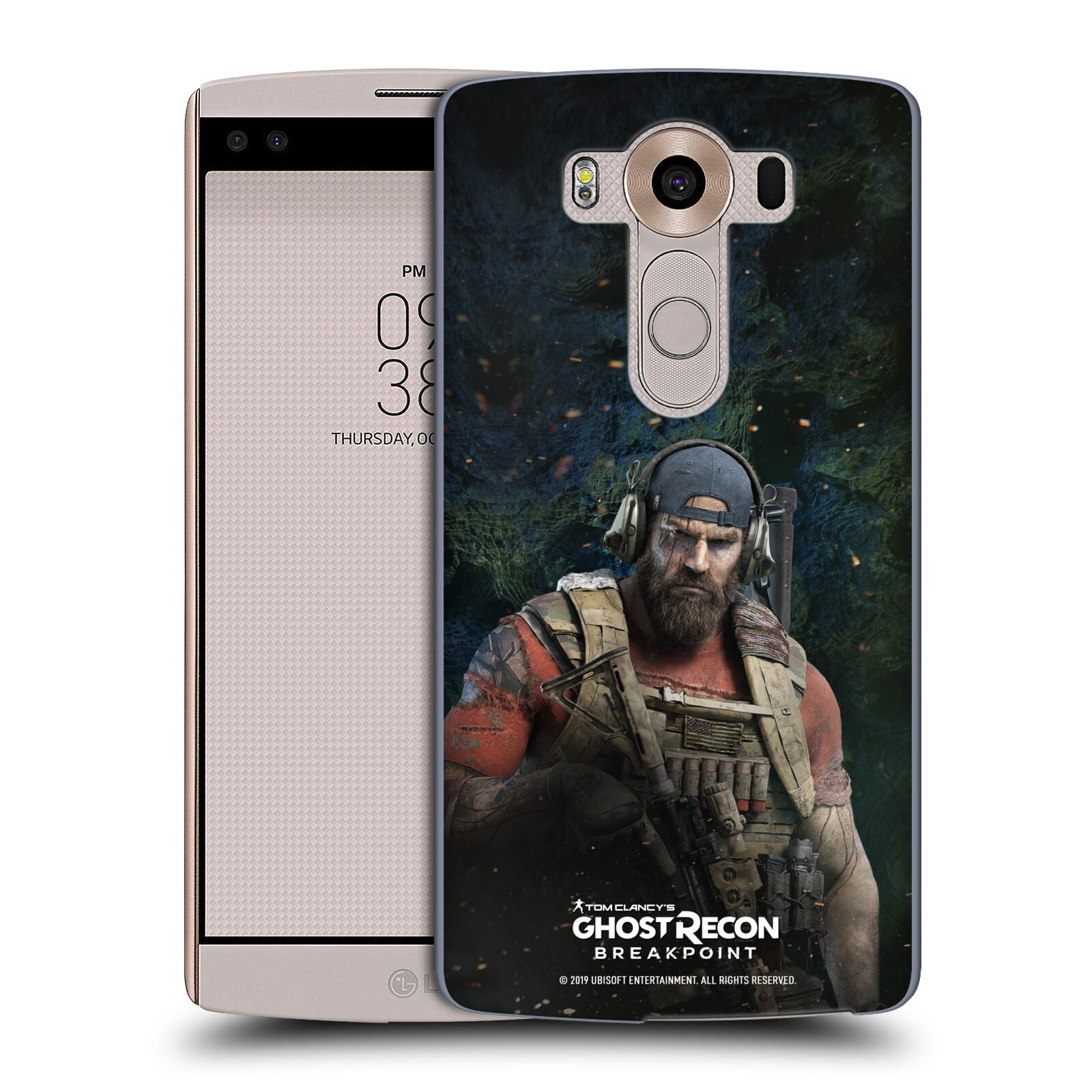 Pouzdro na mobil LG V10 - HEAD CASE - Tom Clancys Ghost Recon BreakPoint - Nomad