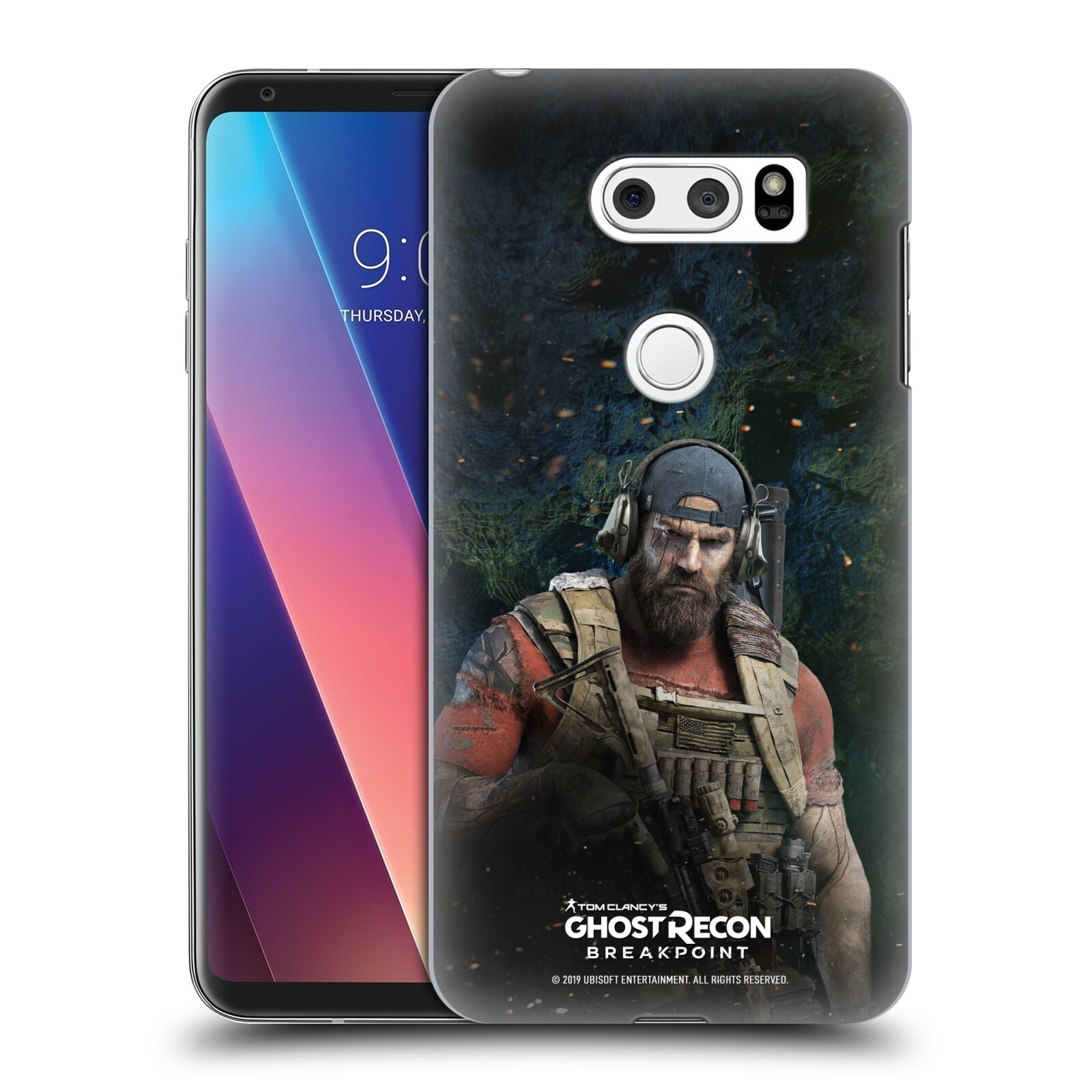 Pouzdro na mobil LG V30 - HEAD CASE - Tom Clancys Ghost Recon BreakPoint - Nomad