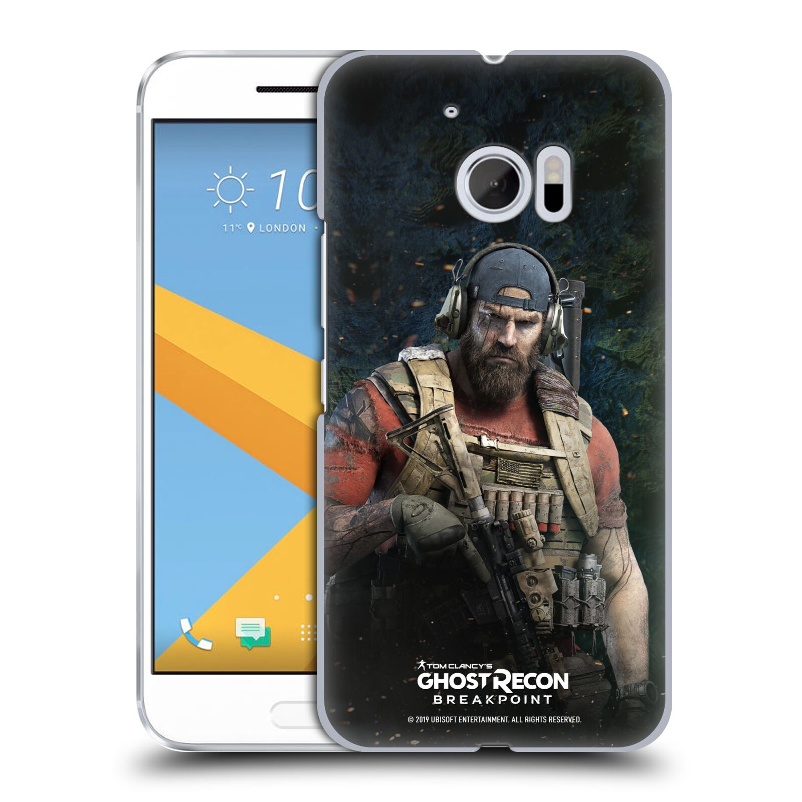 Pouzdro na mobil HTC 10 - HEAD CASE - Tom Clancys Ghost Recon BreakPoint - Nomad