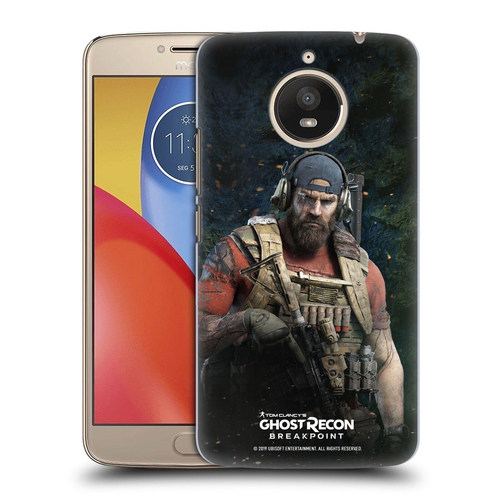 Pouzdro na mobil Lenovo Moto E4 PLUS - HEAD CASE - Tom Clancys Ghost Recon BreakPoint - Nomad