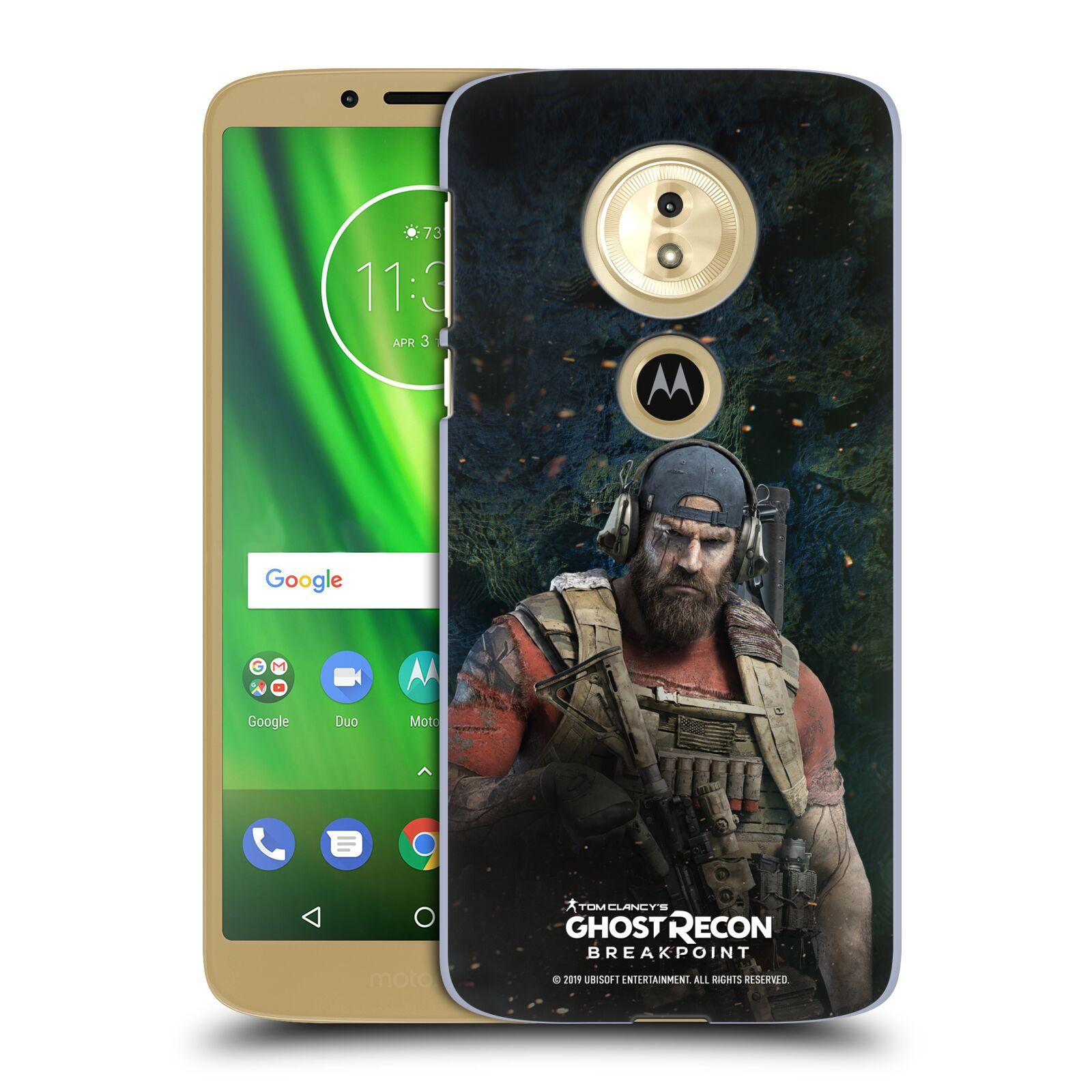 Pouzdro na mobil Motorola Moto E5 - HEAD CASE - Tom Clancys Ghost Recon BreakPoint - Nomad
