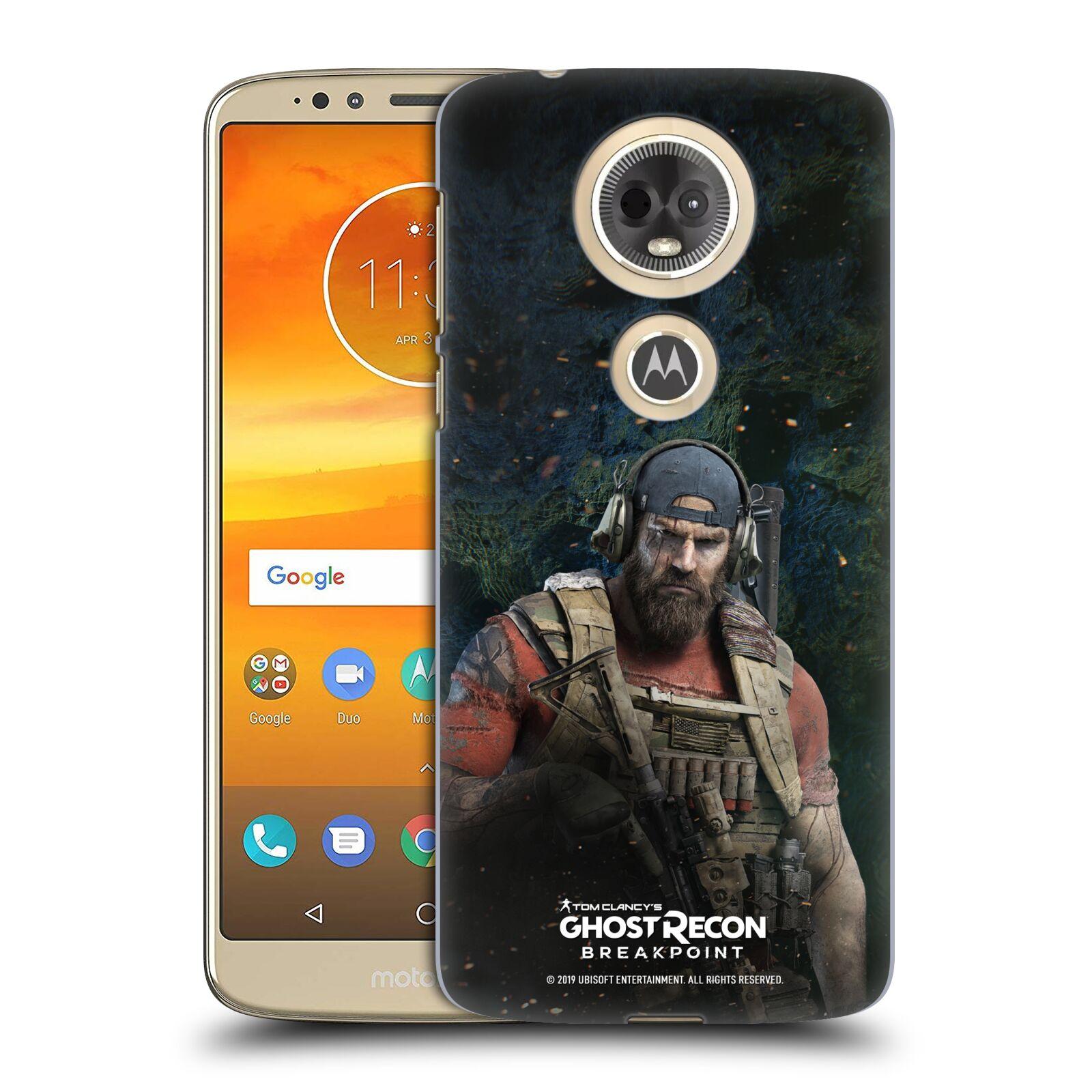 Pouzdro na mobil Motorola Moto E5 PLUS - HEAD CASE - Tom Clancys Ghost Recon BreakPoint - Nomad