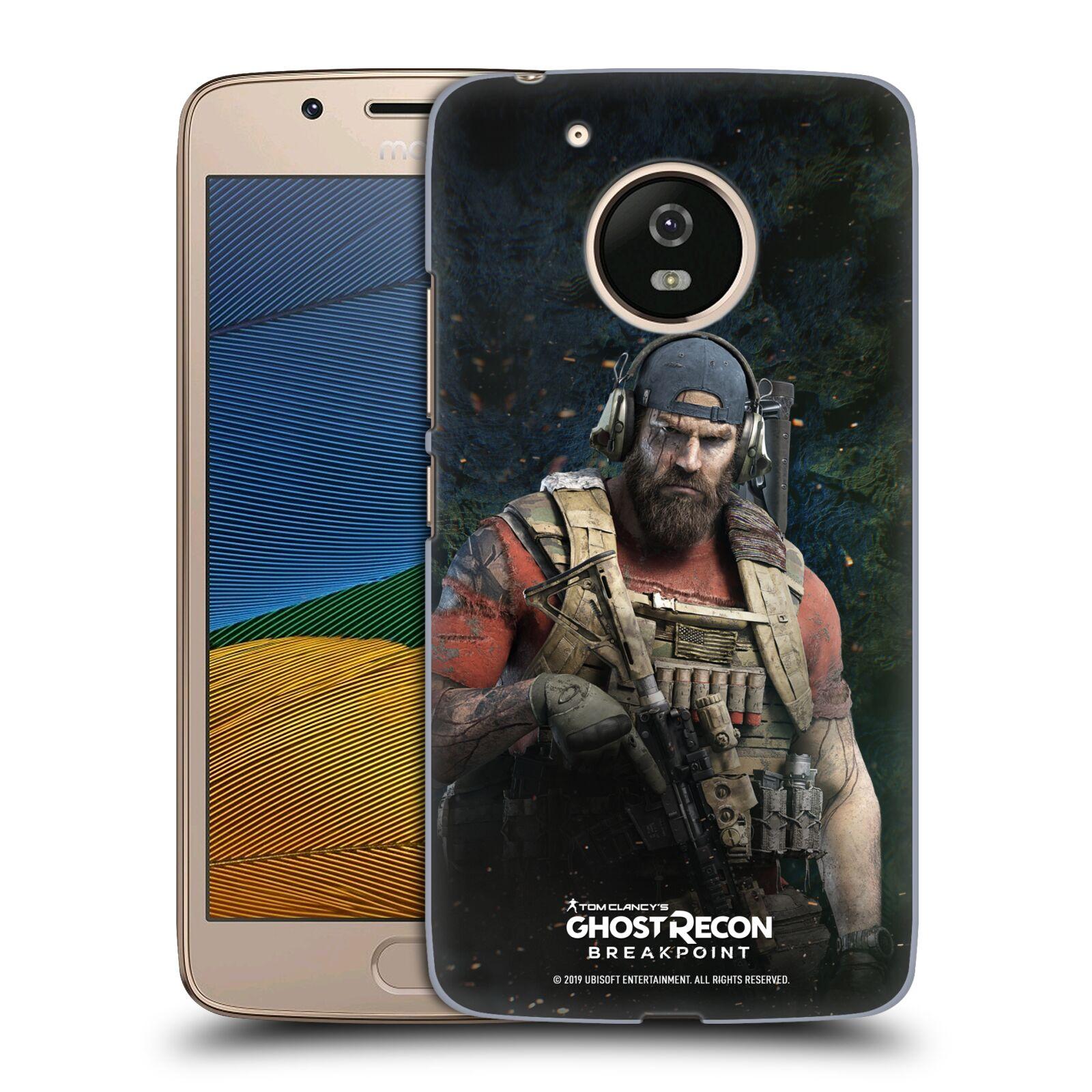 Pouzdro na mobil Lenovo Moto G5 - HEAD CASE - Tom Clancys Ghost Recon BreakPoint - Nomad
