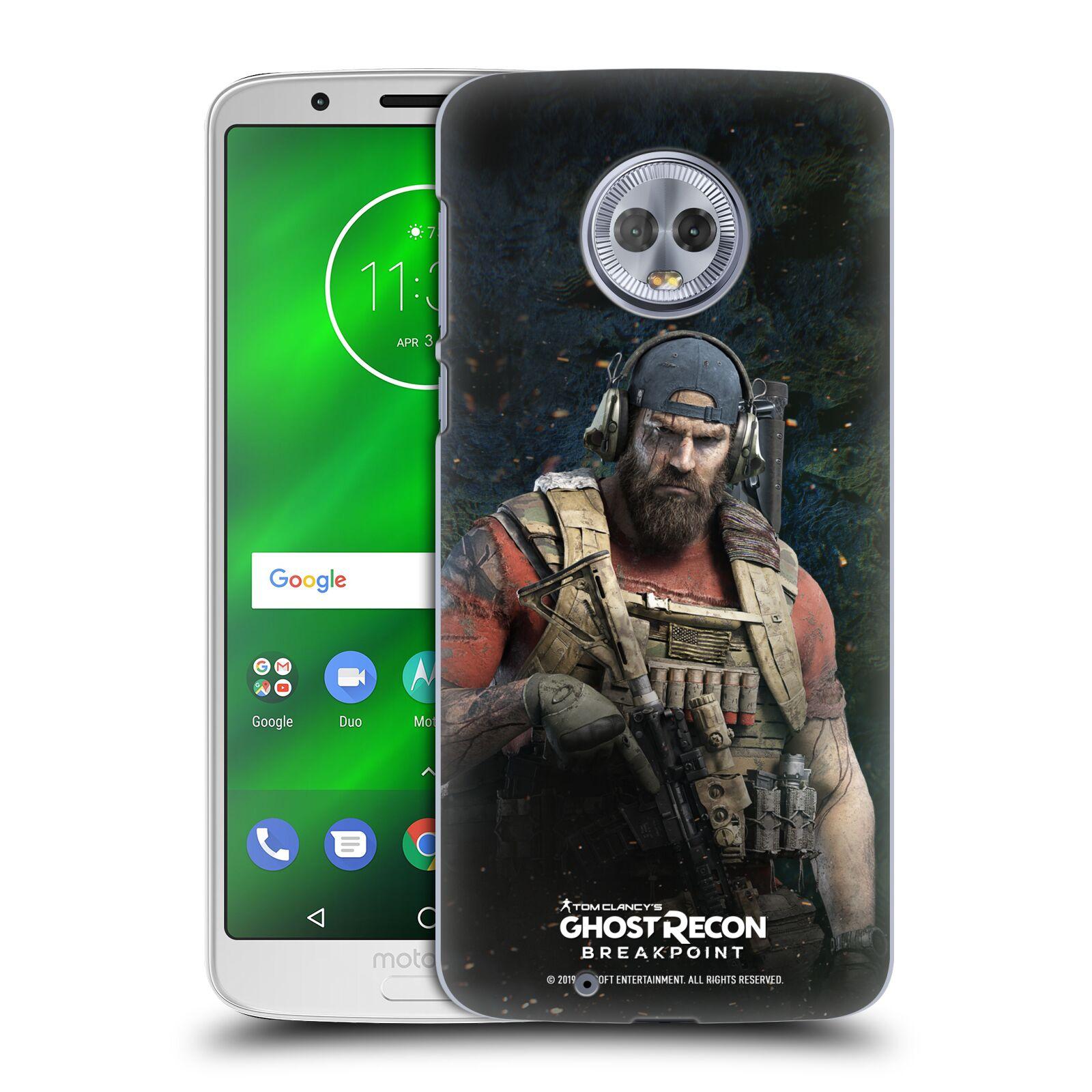 Pouzdro na mobil Motorola Moto G6 - HEAD CASE - Tom Clancys Ghost Recon BreakPoint - Nomad
