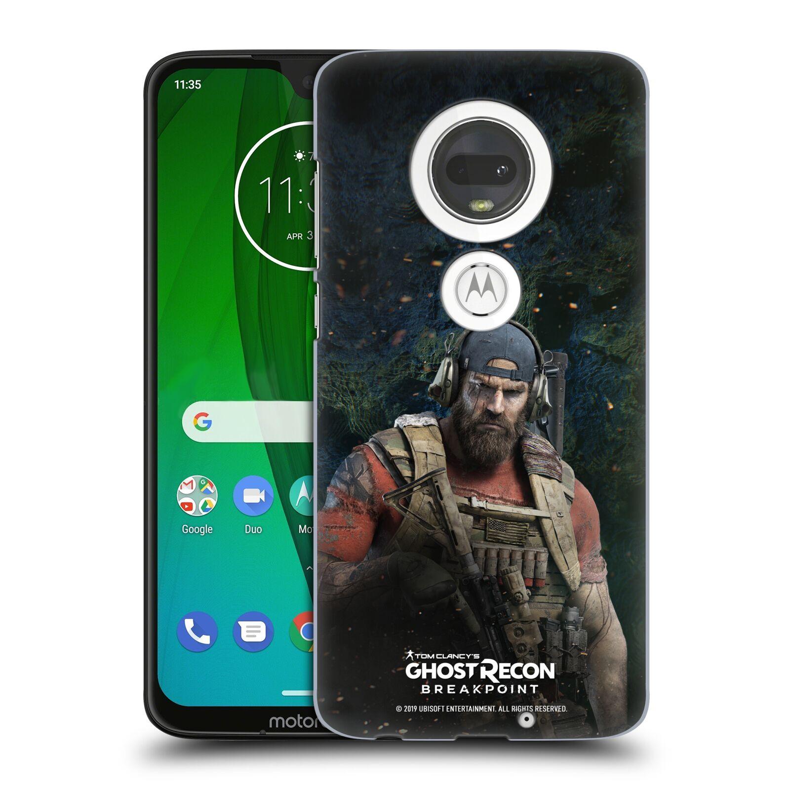 Pouzdro na mobil Motorola Moto G7 - HEAD CASE - Tom Clancys Ghost Recon BreakPoint - Nomad