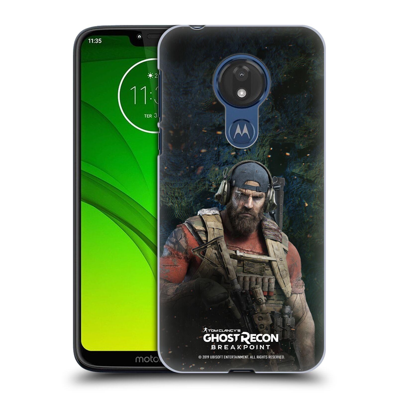 Pouzdro na mobil Motorola Moto G7 POWER - HEAD CASE - Tom Clancys Ghost Recon BreakPoint - Nomad
