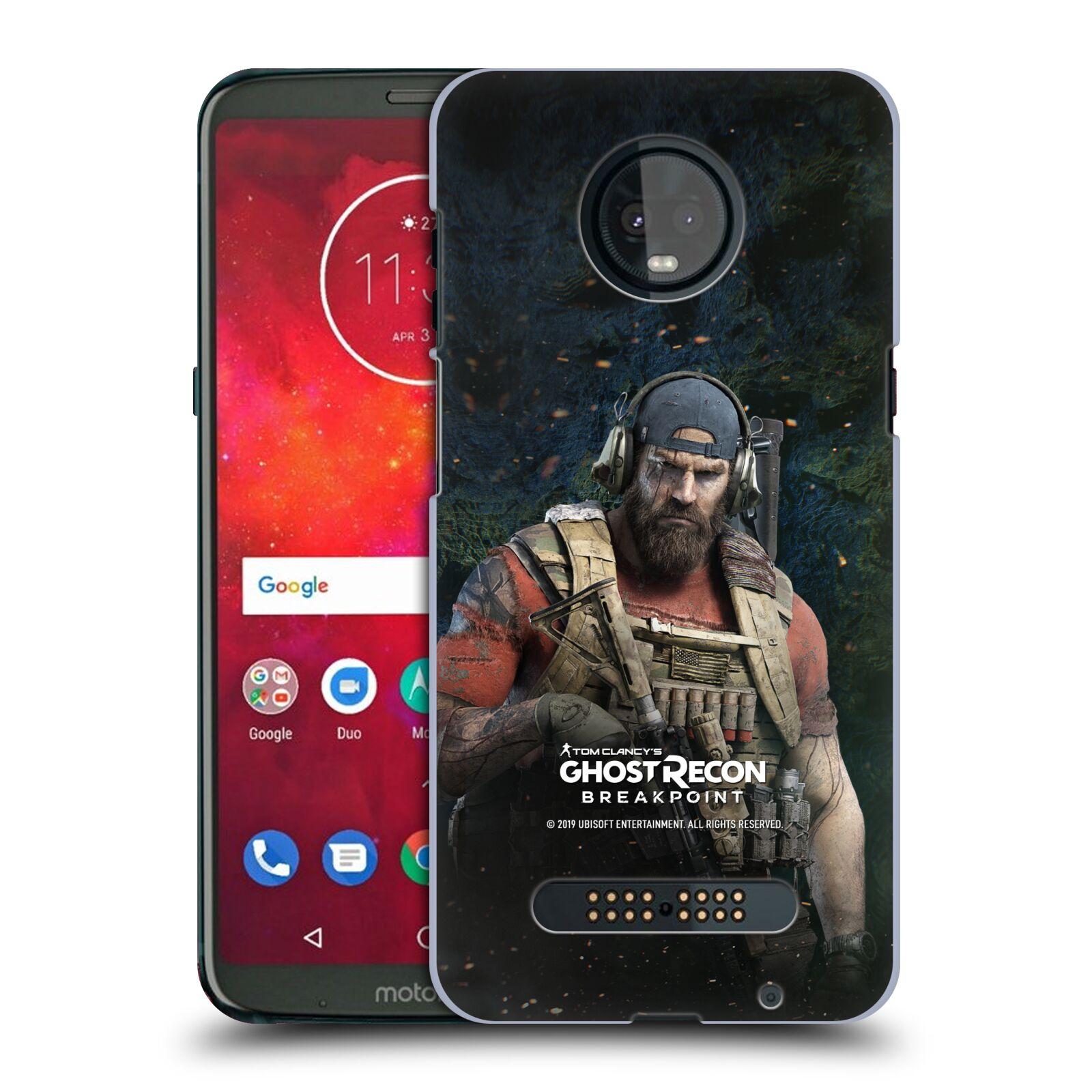 Pouzdro na mobil Motorola Moto Z3 PLAY - HEAD CASE - Tom Clancys Ghost Recon BreakPoint - Nomad