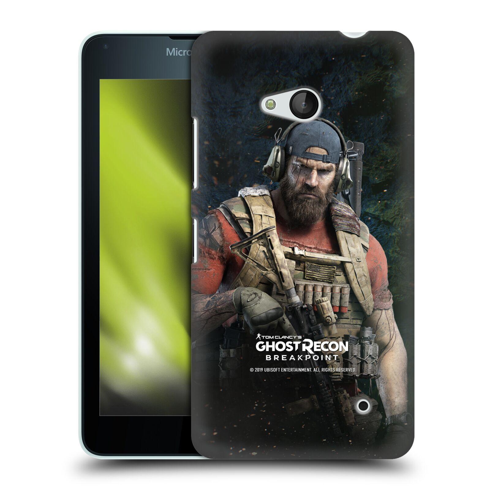 Pouzdro na mobil Microsoft Lumia 640 / 640 DUAL SIM - HEAD CASE - Tom Clancys Ghost Recon BreakPoint - Nomad