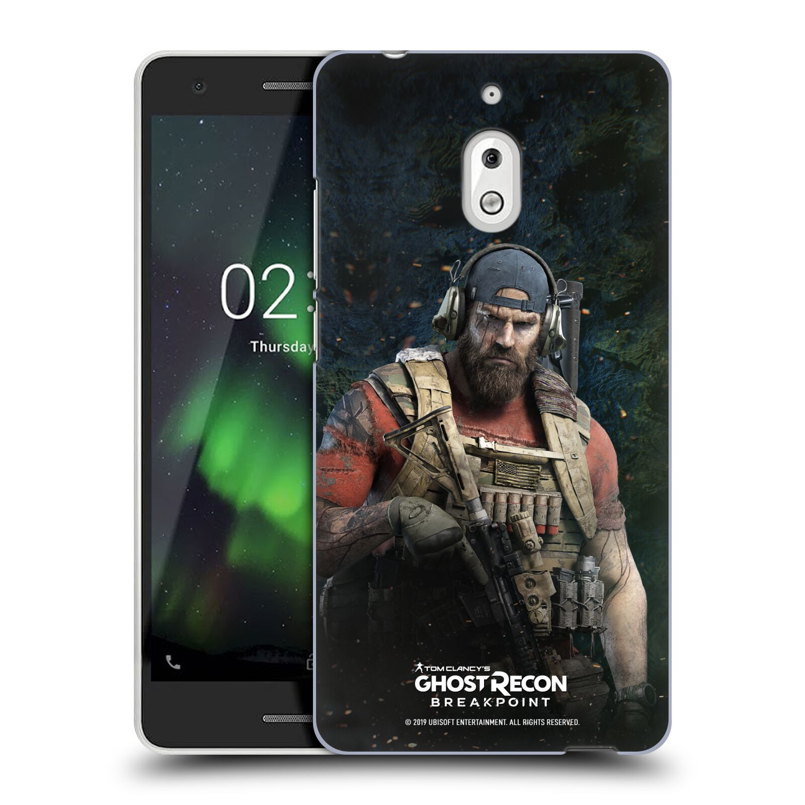 Pouzdro na mobil Nokia 2.1 - HEAD CASE - Tom Clancys Ghost Recon BreakPoint - Nomad