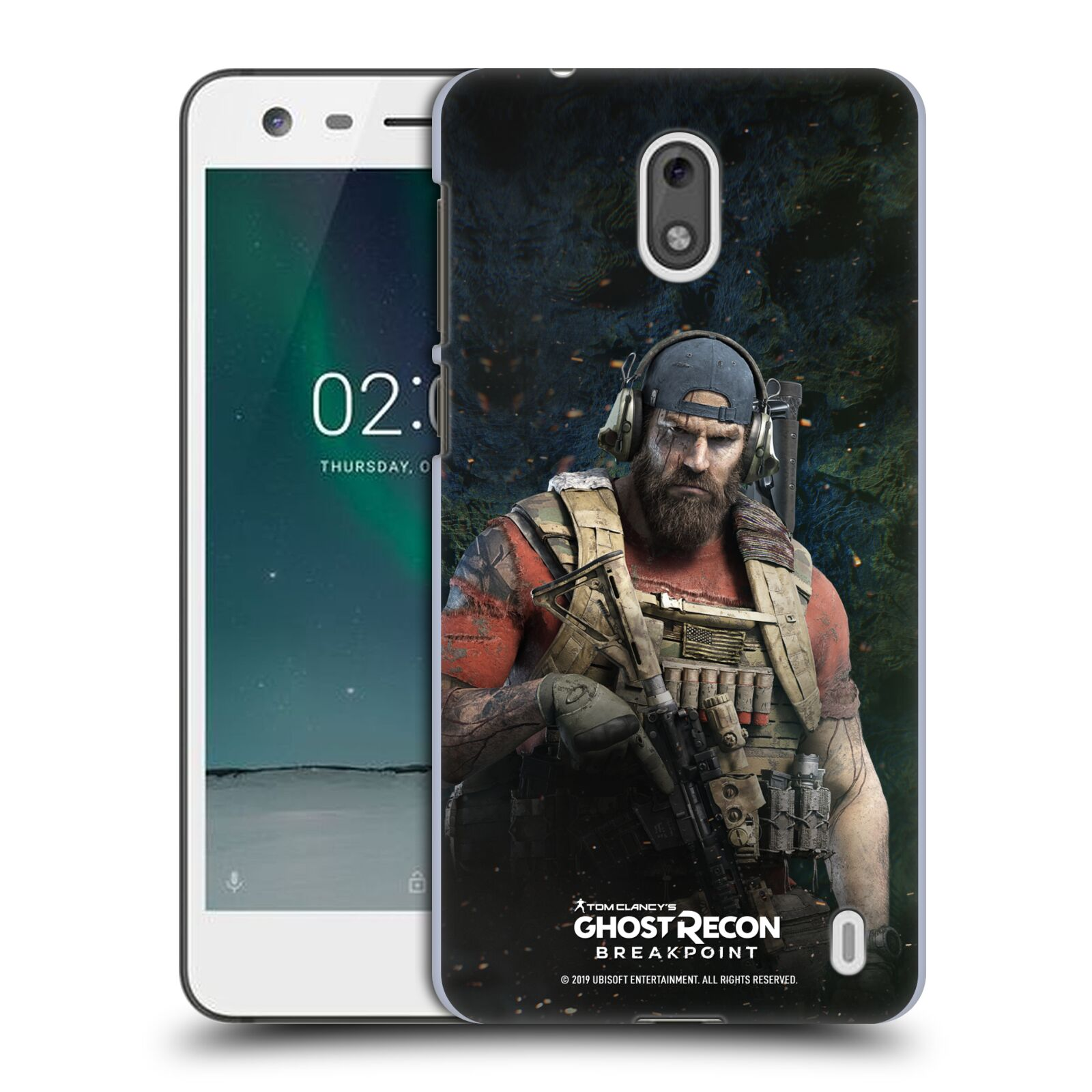 Pouzdro na mobil Nokia 2 - HEAD CASE - Tom Clancys Ghost Recon BreakPoint - Nomad