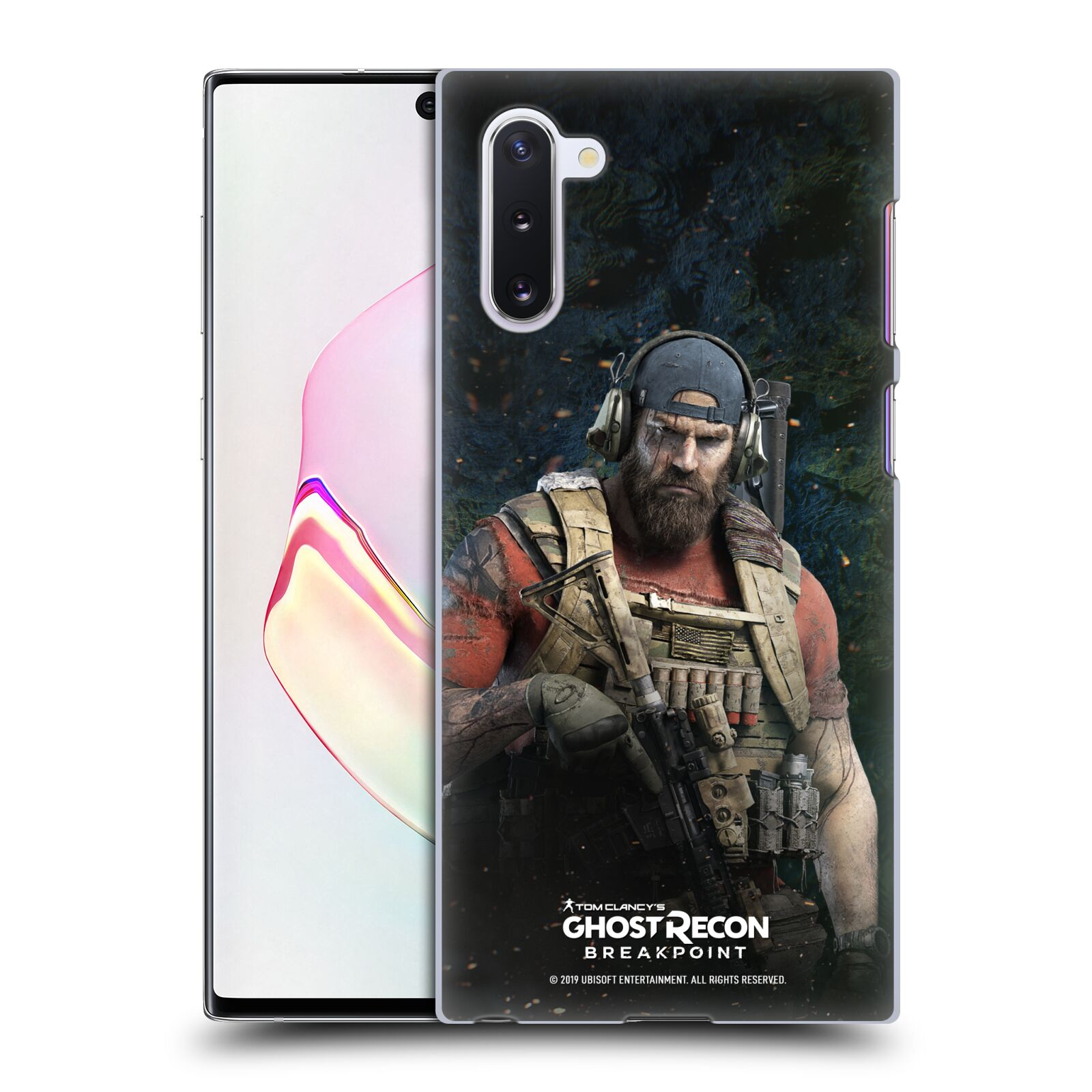 Pouzdro na mobil Samsung Galaxy Note 10 - HEAD CASE - Tom Clancys Ghost Recon BreakPoint - Nomad