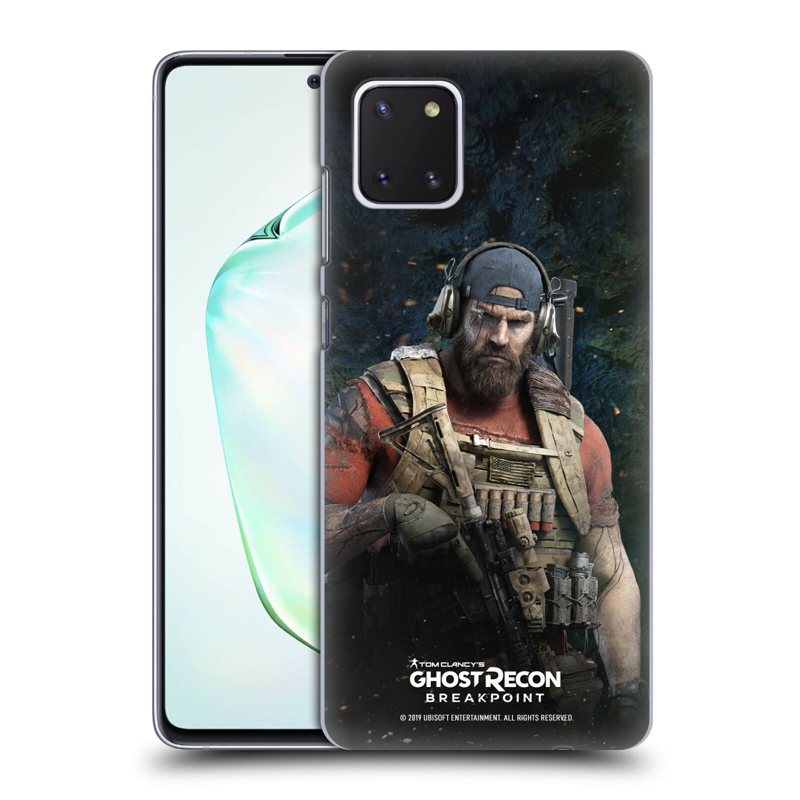 Pouzdro na mobil Samsung Galaxy Note 10 LITE - HEAD CASE - Tom Clancys Ghost Recon BreakPoint - Nomad