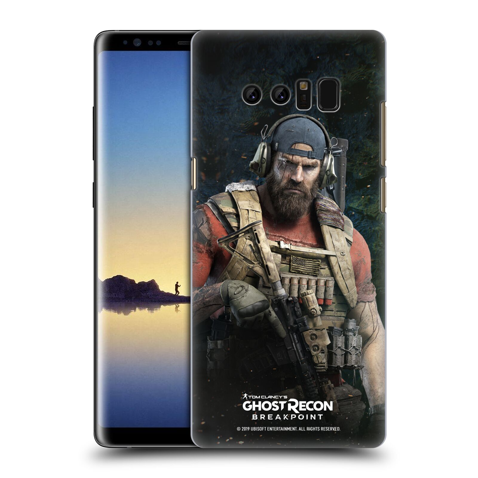 Pouzdro na mobil Samsung Galaxy Note 8 - HEAD CASE - Tom Clancys Ghost Recon BreakPoint - Nomad