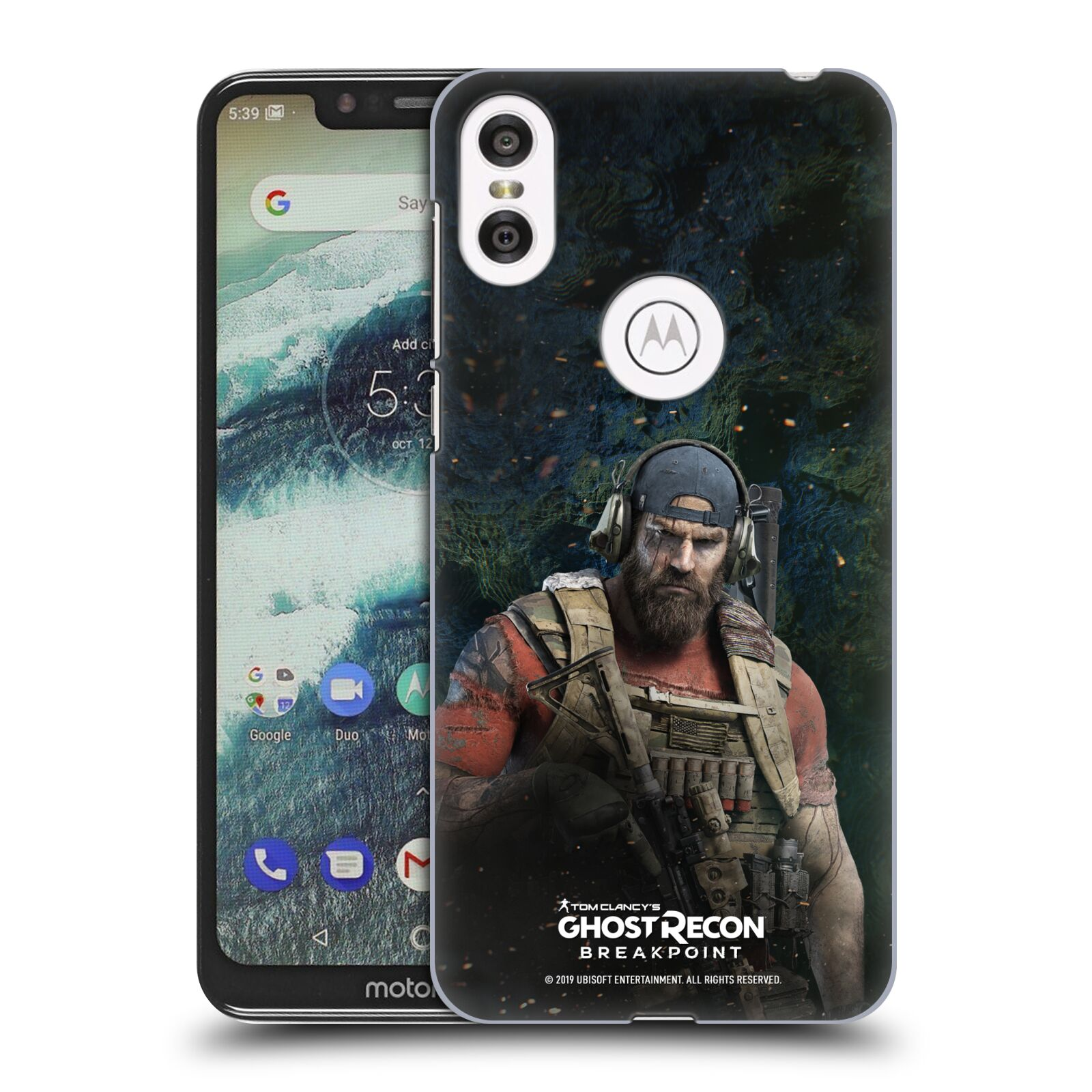 Pouzdro na mobil Motorola Moto ONE - HEAD CASE - Tom Clancys Ghost Recon BreakPoint - Nomad
