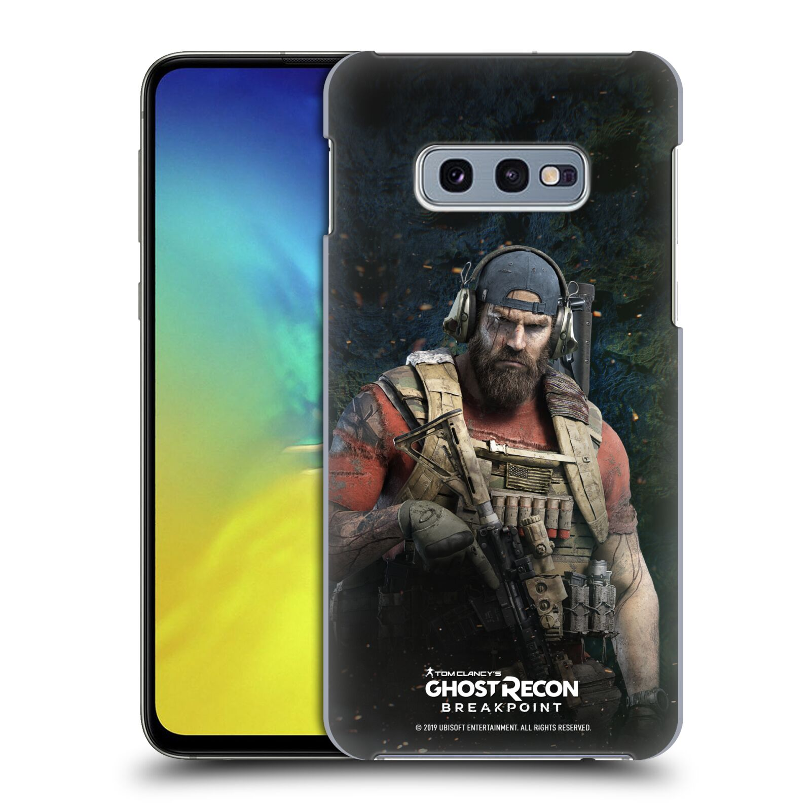 Pouzdro na mobil Samsung Galaxy S10e - HEAD CASE - Tom Clancys Ghost Recon BreakPoint - Nomad