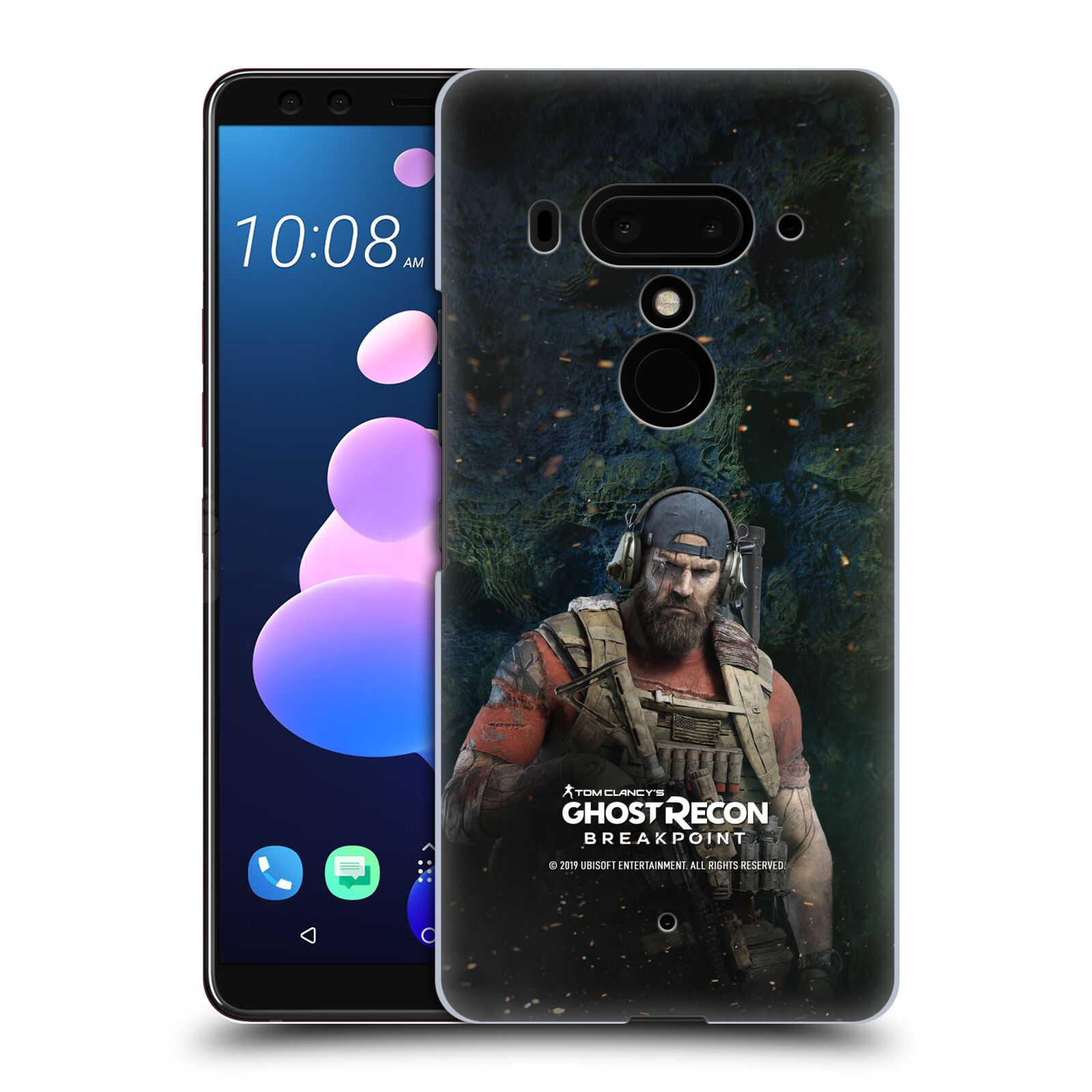 Pouzdro na mobil HTC U 12 PLUS / U 12+ DUAL SIM - HEAD CASE - Tom Clancys Ghost Recon BreakPoint - Nomad