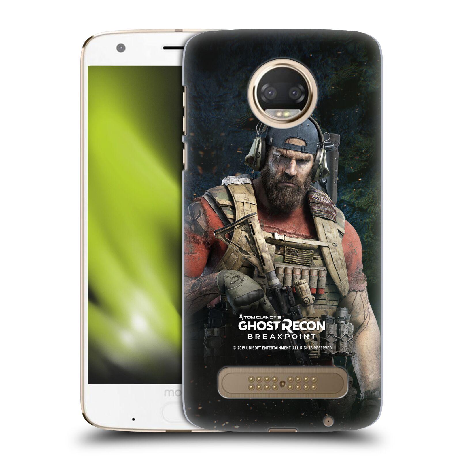 Pouzdro na mobil Motorola Moto Z2 PLAY - HEAD CASE - Tom Clancys Ghost Recon BreakPoint - Nomad