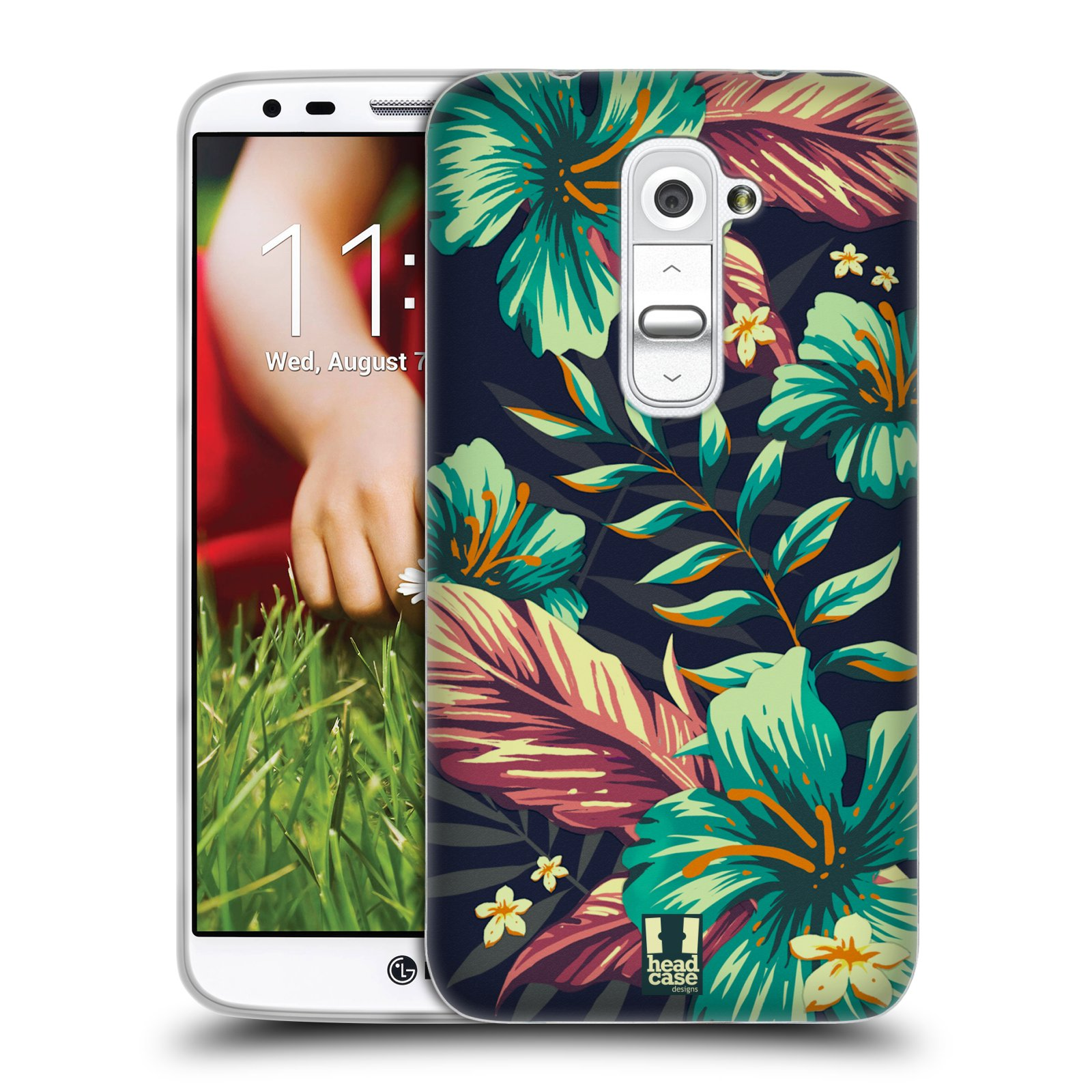 HEAD CASE TROPICAL PRINTS SILICONE GEL CASE FOR LG G2 D802