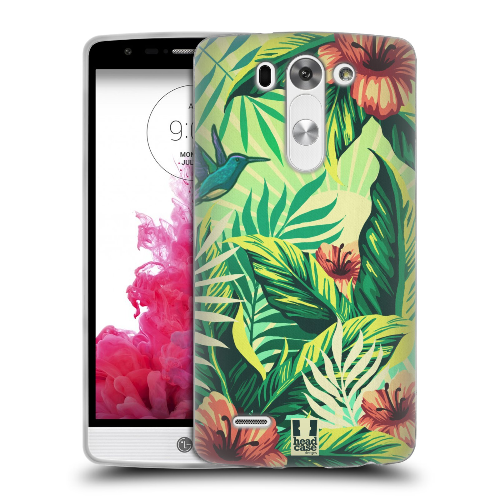 HEAD CASE TROPICAL PRINTS SILICONE GEL CASE FOR LG G3 BEAT D722K