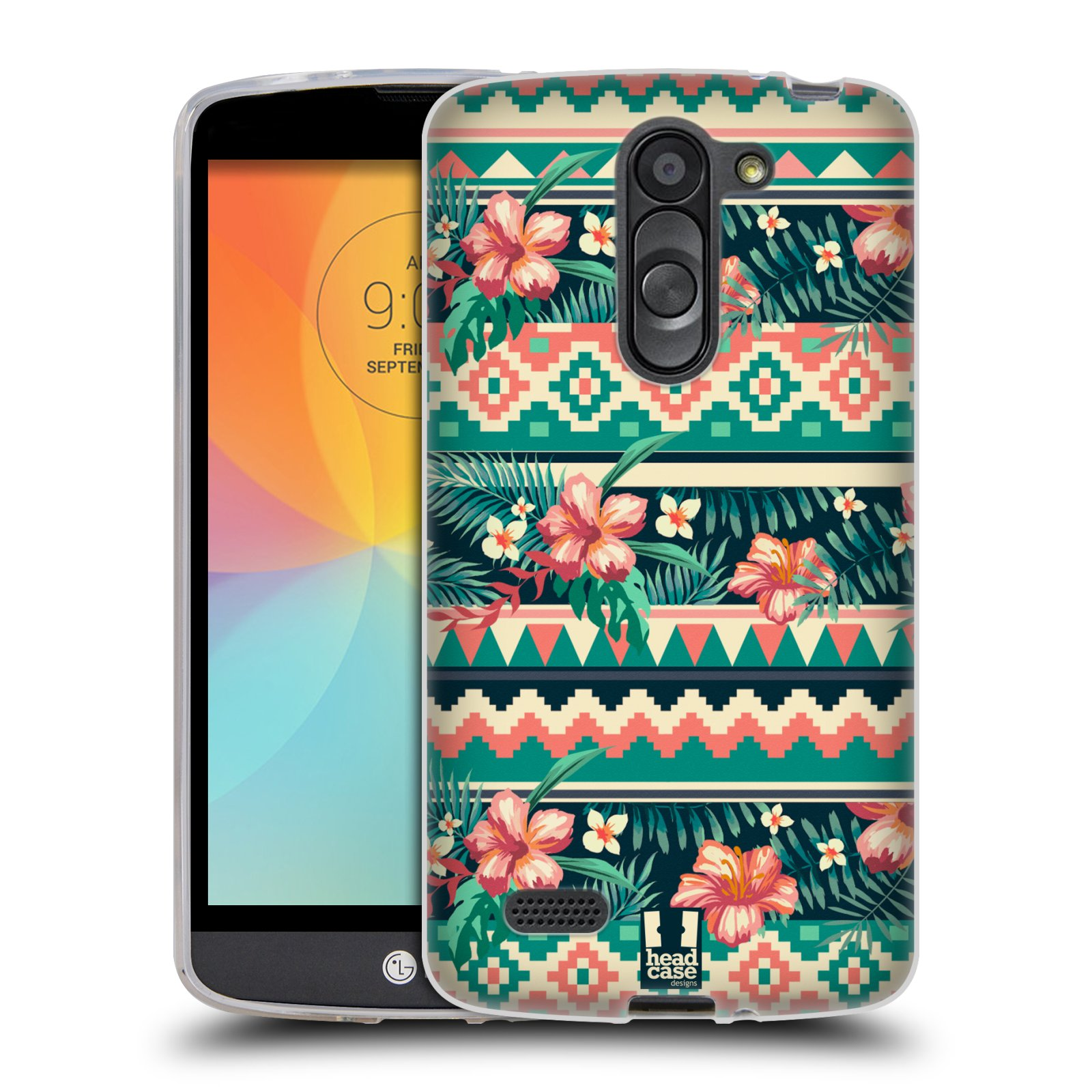 HEAD CASE TROPICAL PRINTS SILICONE GEL CASE FOR LG L BELLO D331