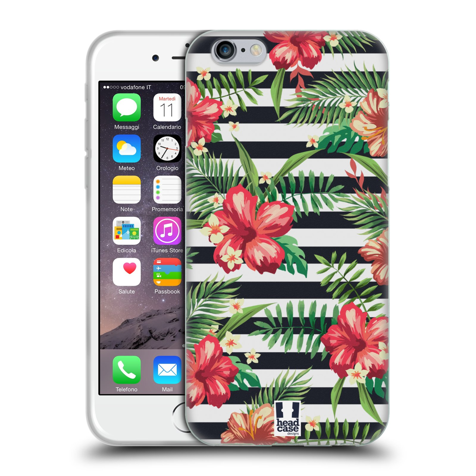 HEAD CASE TROPICAL PRINTS SOFT GEL CASE FOR APPLE iPHONE 6S
