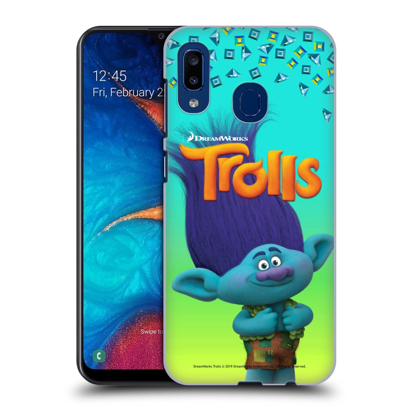 Pouzdro na mobil Samsung Galaxy A20 - HEAD CASE - Pohádka - Trollové skřítek Branch