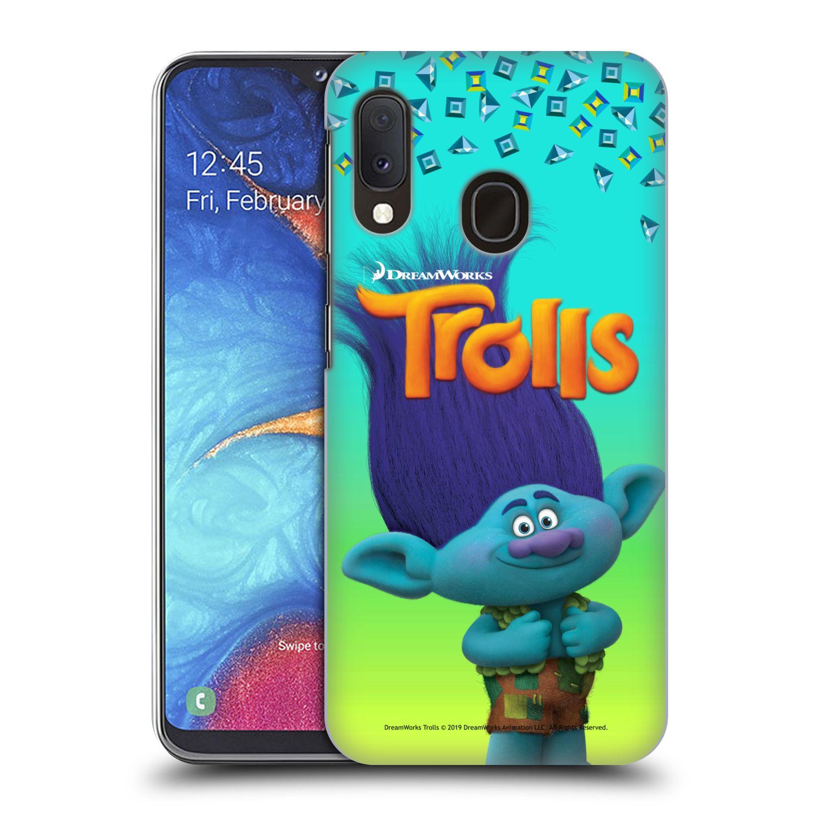 Pouzdro na mobil Samsung Galaxy A20e - HEAD CASE - Pohádka - Trollové skřítek Branch