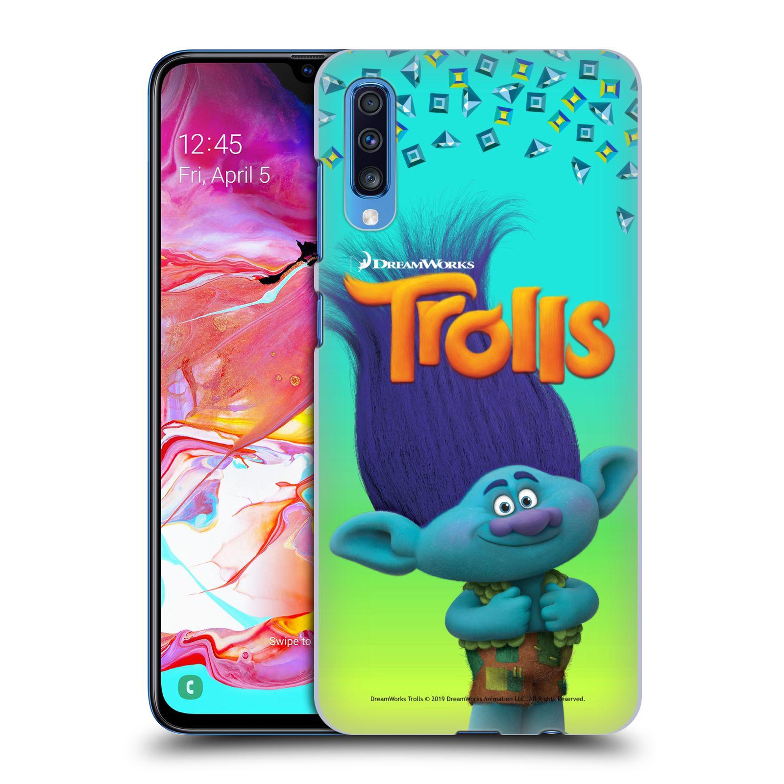 Pouzdro na mobil Samsung Galaxy A70 - HEAD CASE - Pohádka - Trollové skřítek Branch