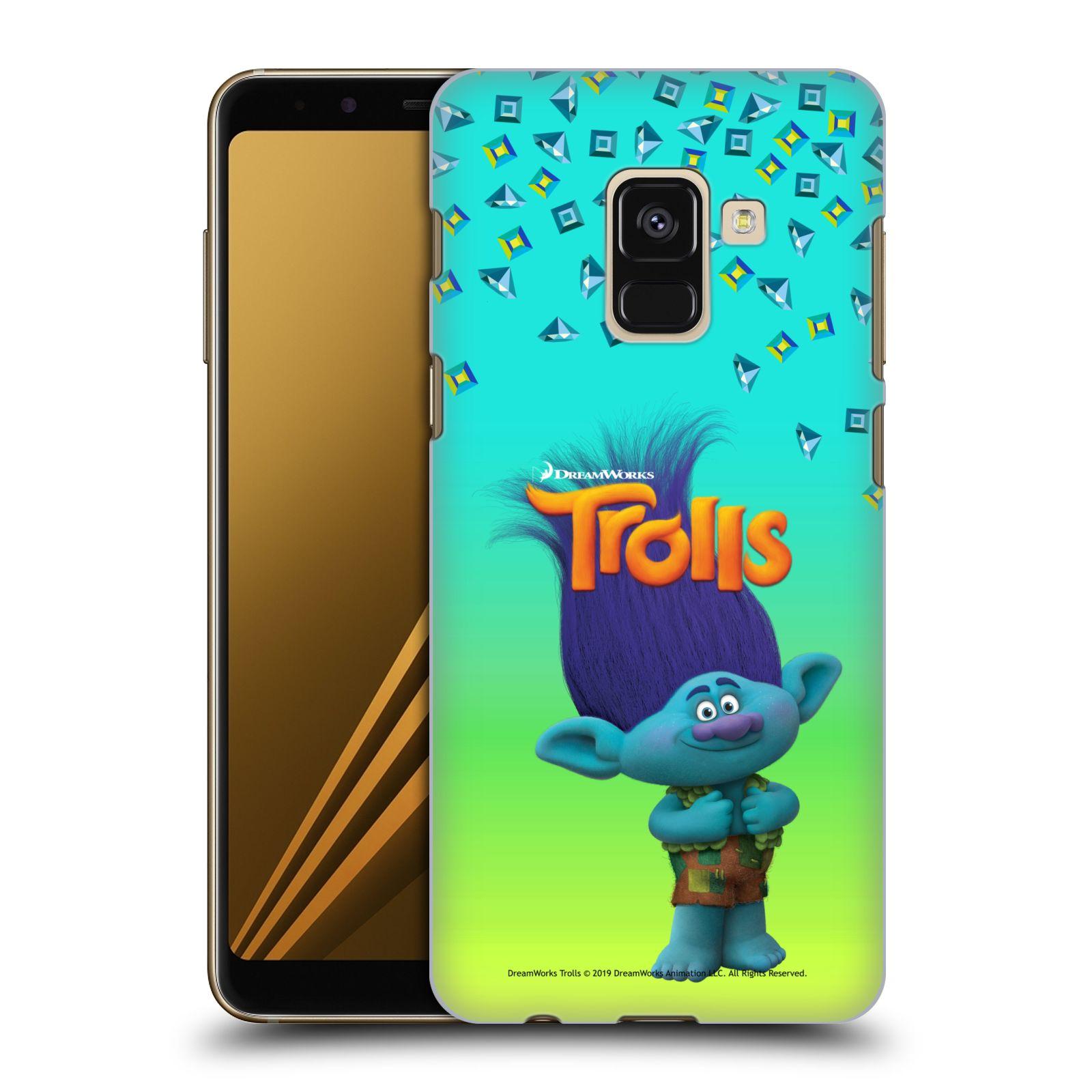 Pouzdro na mobil Samsung Galaxy A8+ 2018, A8 PLUS 2018 - HEAD CASE - Pohádka - Trollové skřítek Branch