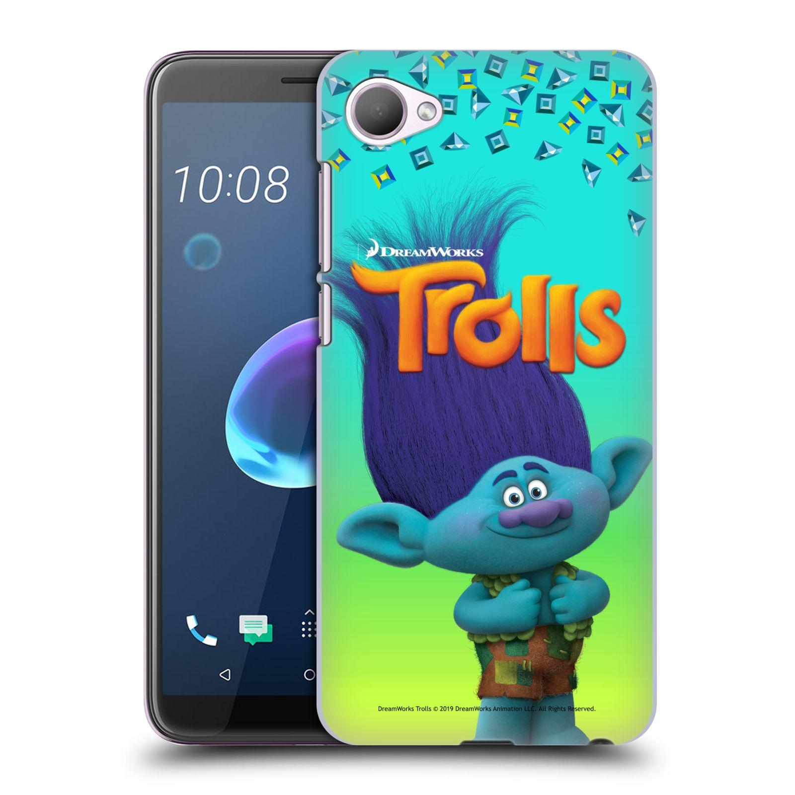 Pouzdro na mobil HTC Desire 12 / Desire 12 DUAL SIM - HEAD CASE - Pohádka - Trollové skřítek Branch
