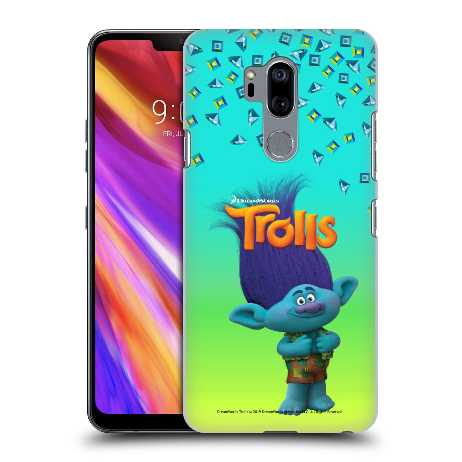Pouzdro na mobil LG G7  ThinQ - HEAD CASE - Pohádka - Trollové skřítek Branch