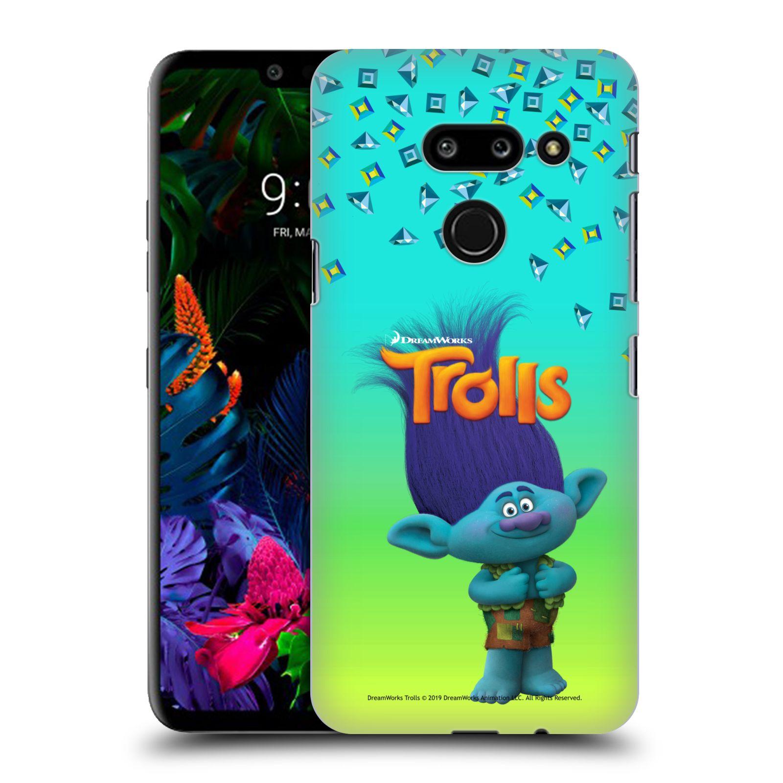 Pouzdro na mobil LG G8 ThinQ - HEAD CASE - Pohádka - Trollové skřítek Branch
