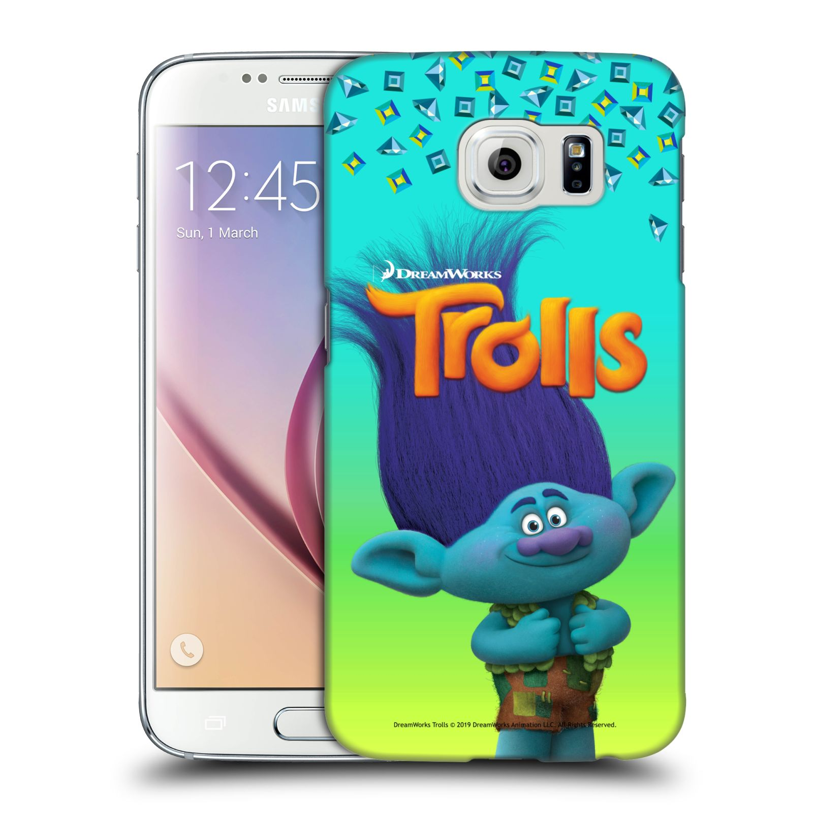 Pouzdro na mobil Samsung Galaxy S6 - HEAD CASE - Pohádka - Trollové skřítek Branch