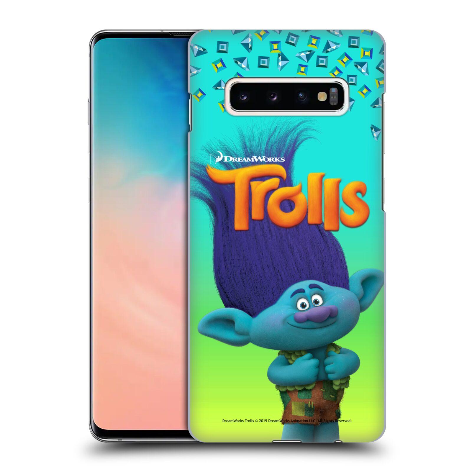 Pouzdro na mobil Samsung Galaxy S10+ - HEAD CASE - Pohádka - Trollové skřítek Branch