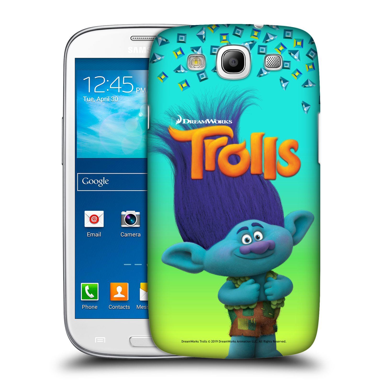 Pouzdro na mobil Samsung Galaxy S3 - HEAD CASE - Pohádka - Trollové skřítek Branch