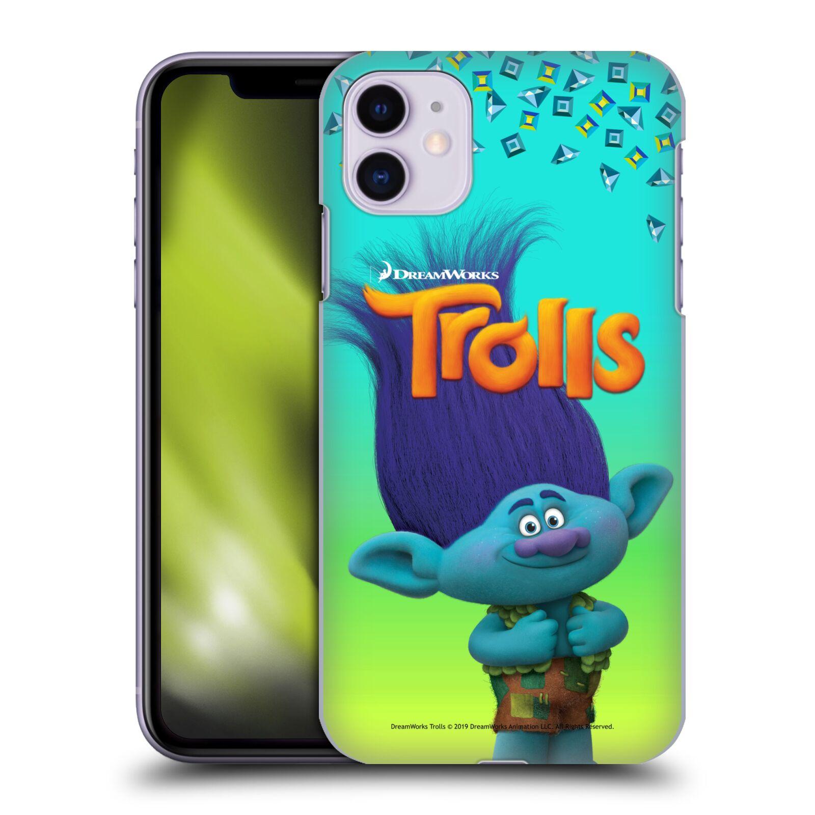 Pouzdro na mobil Apple Iphone 11 - HEAD CASE - Pohádka - Trollové skřítek Branch